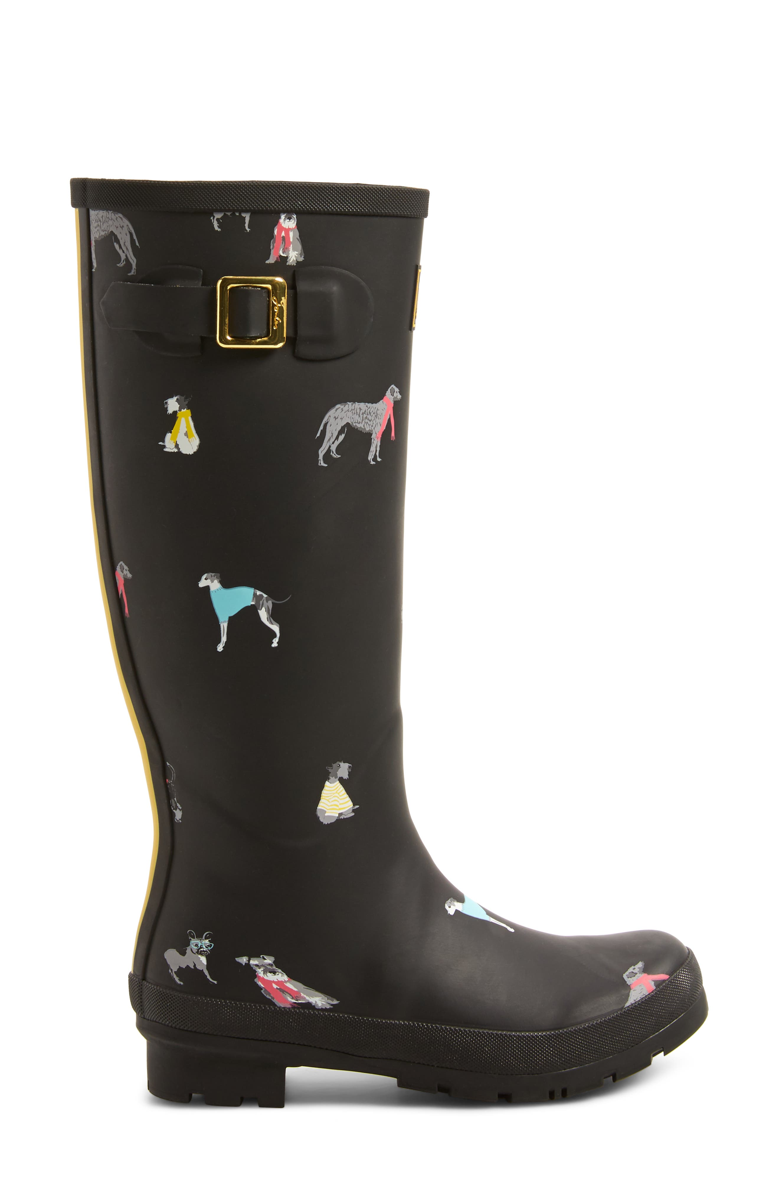 'Welly' Print Rain Boot,                             Alternate thumbnail 76, color,