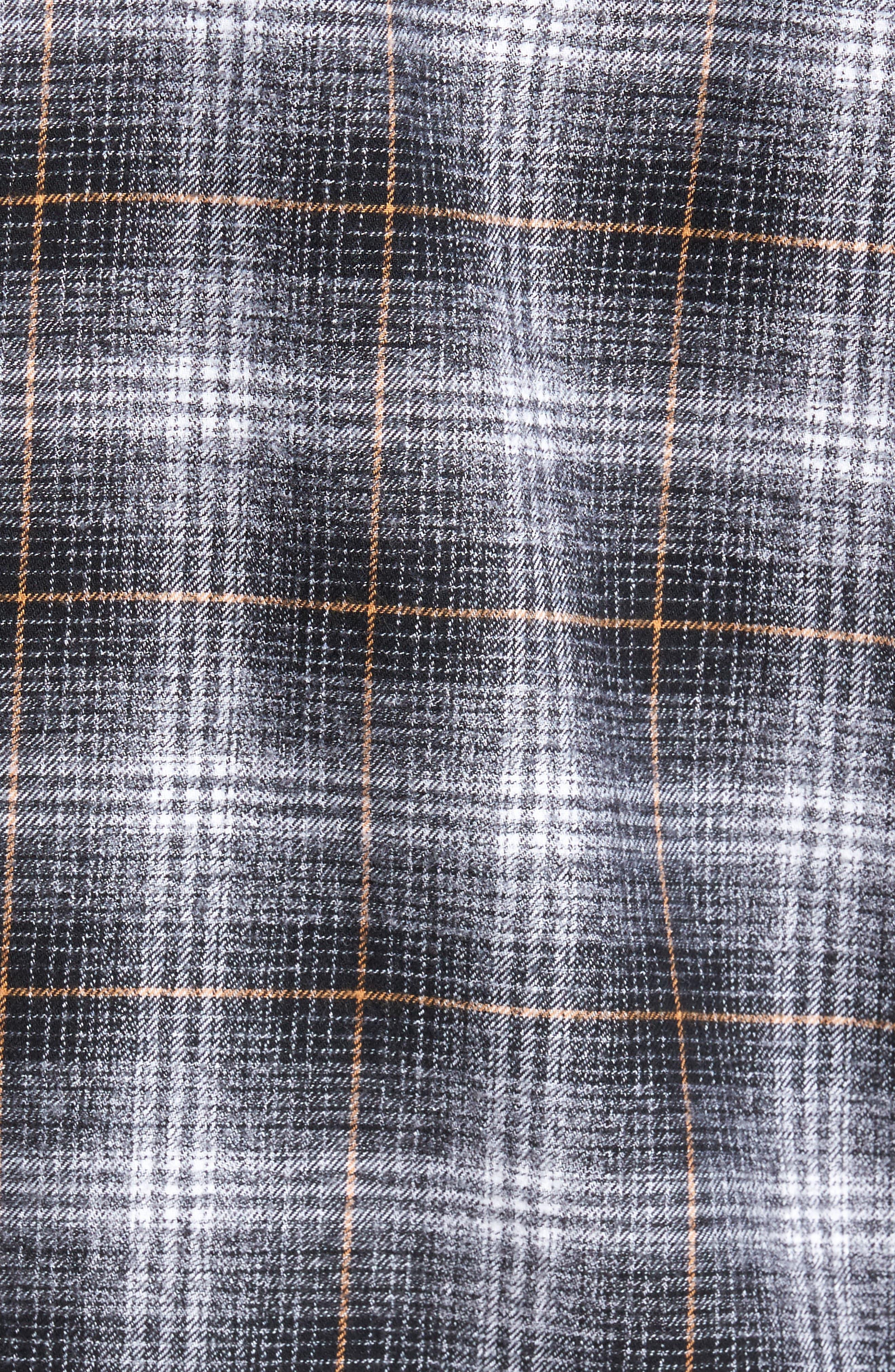 Shriner Flannel Shirt,                             Alternate thumbnail 5, color,                             002