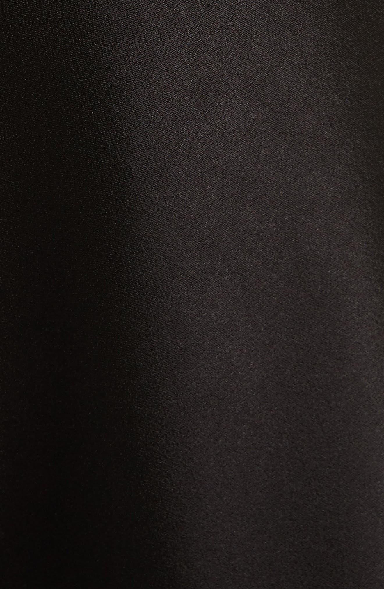 Harmony Drapey Slipdress,                             Alternate thumbnail 6, color,                             001