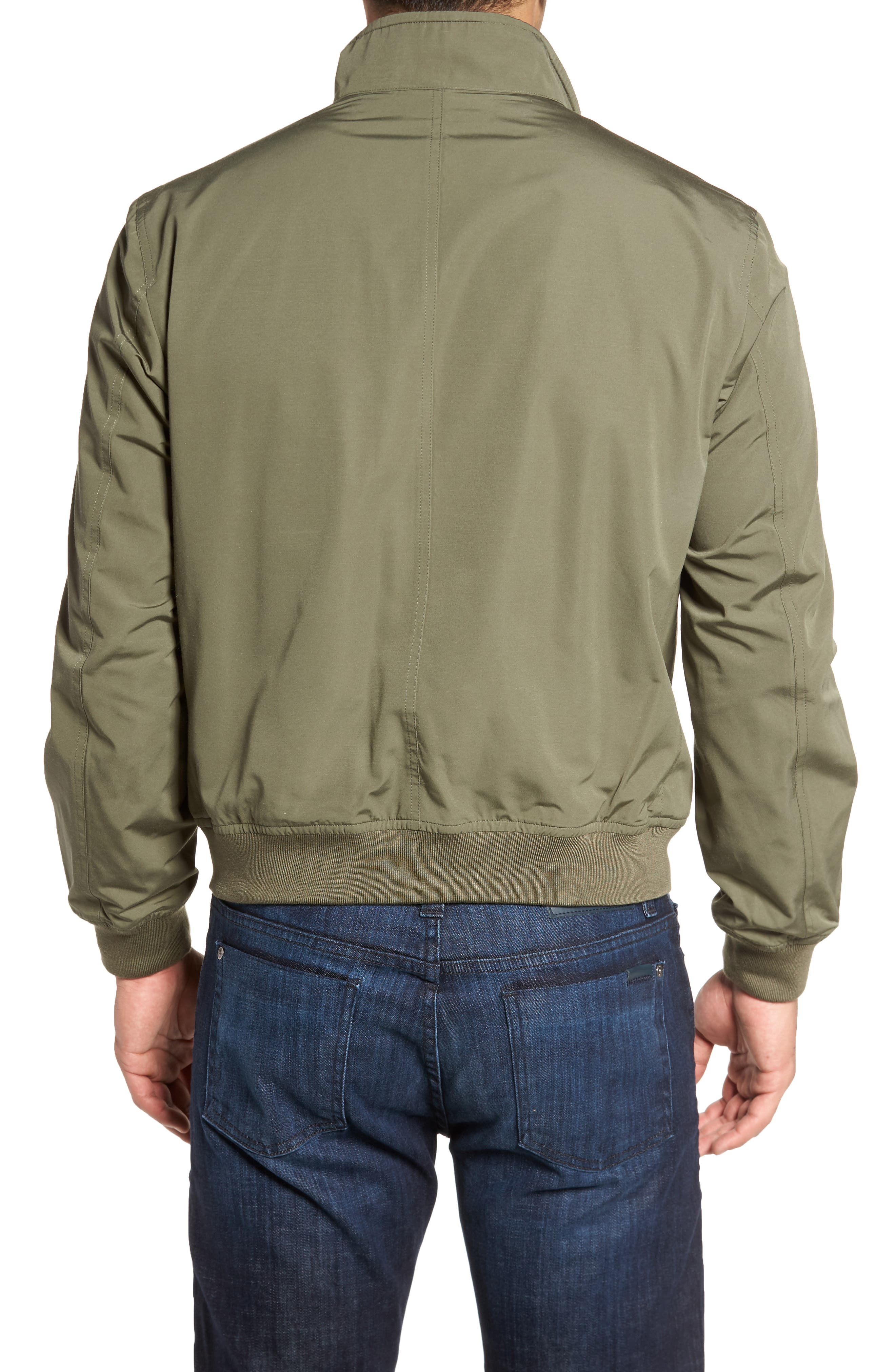 Water-Repellent Zip Front Jacket,                             Alternate thumbnail 2, color,                             374