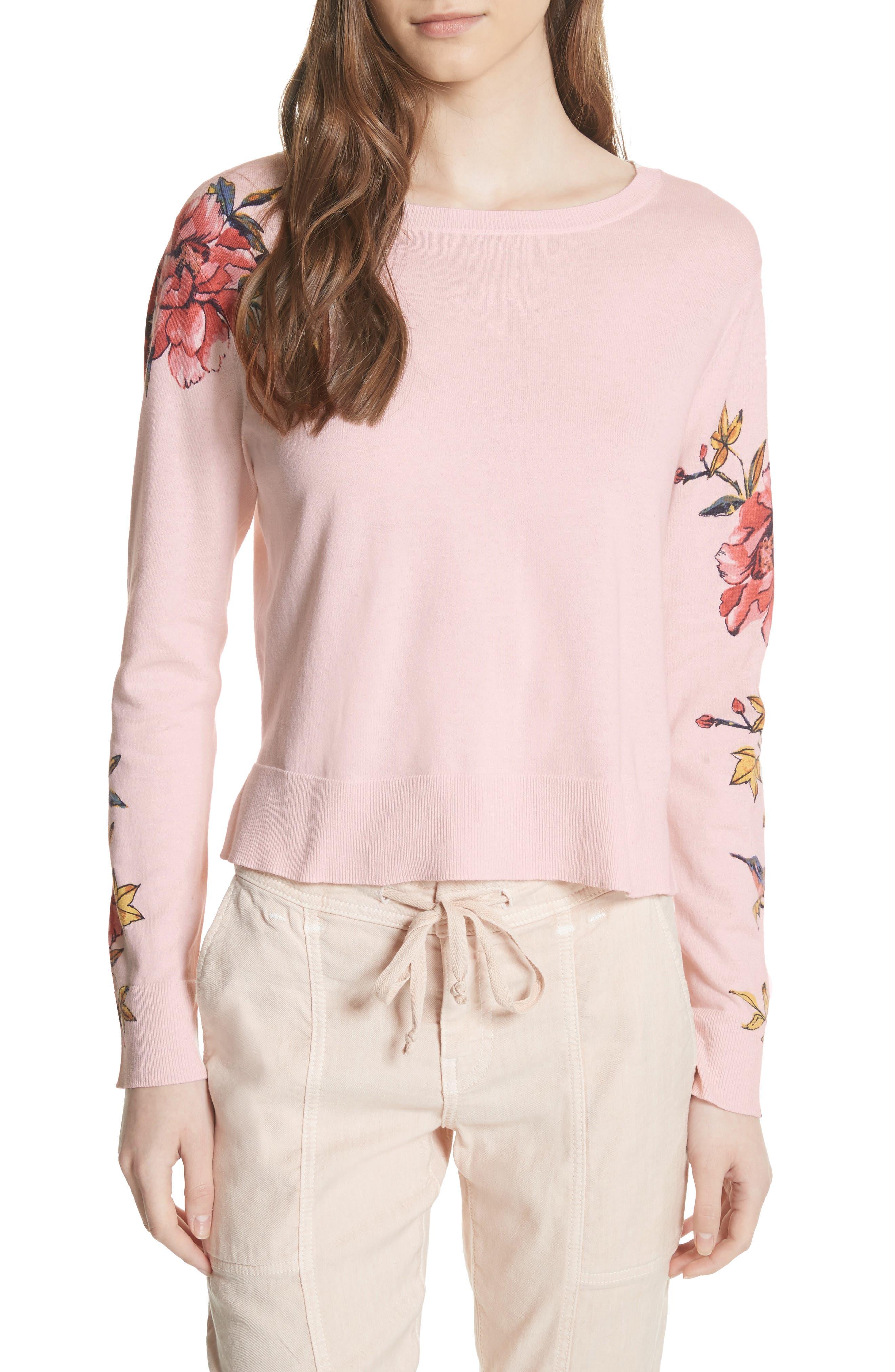 Paari Silk & Cashmere Sweater,                             Main thumbnail 1, color,