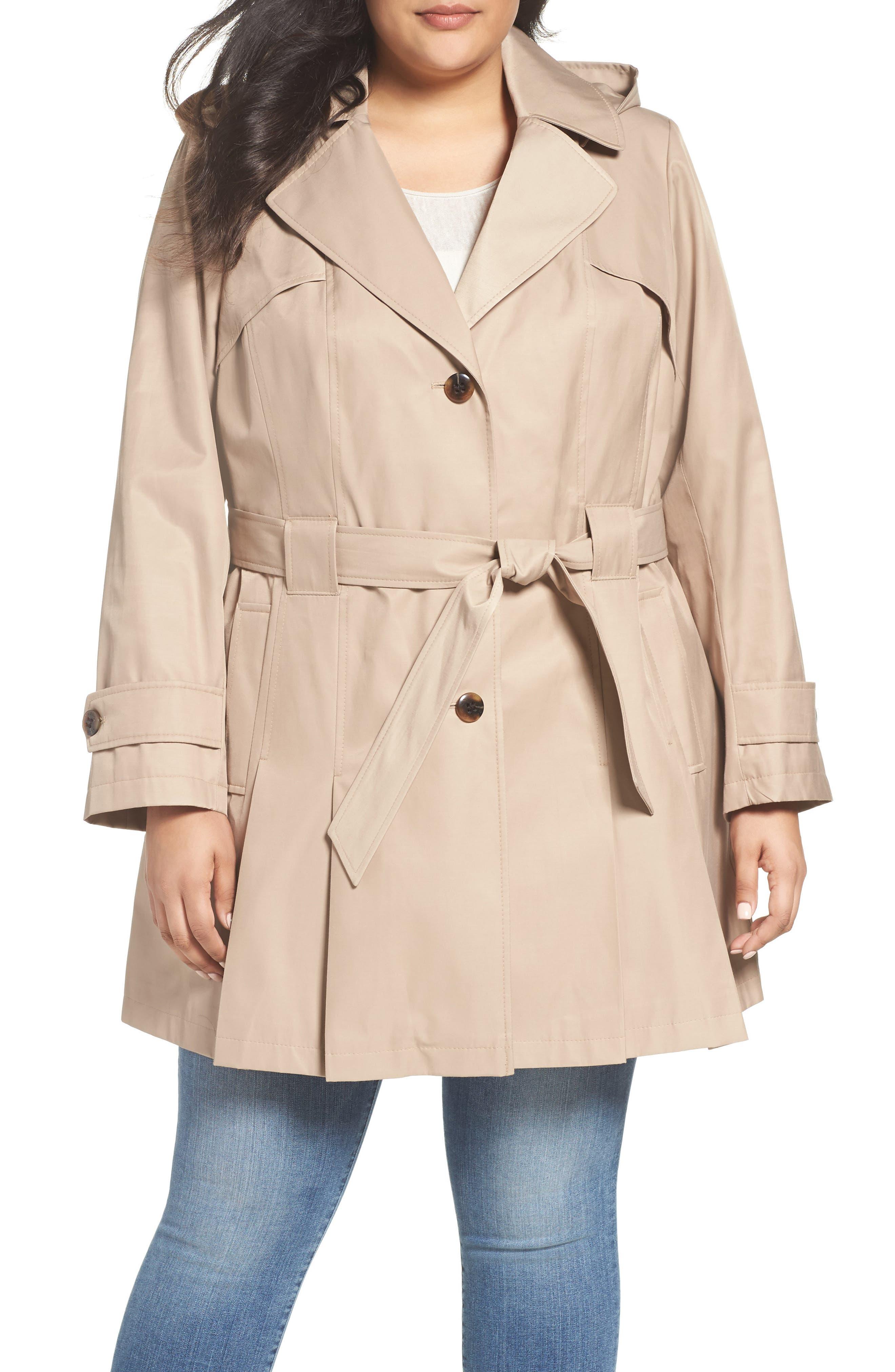 'Scarpa' Single Breasted Trench Coat,                             Main thumbnail 3, color,