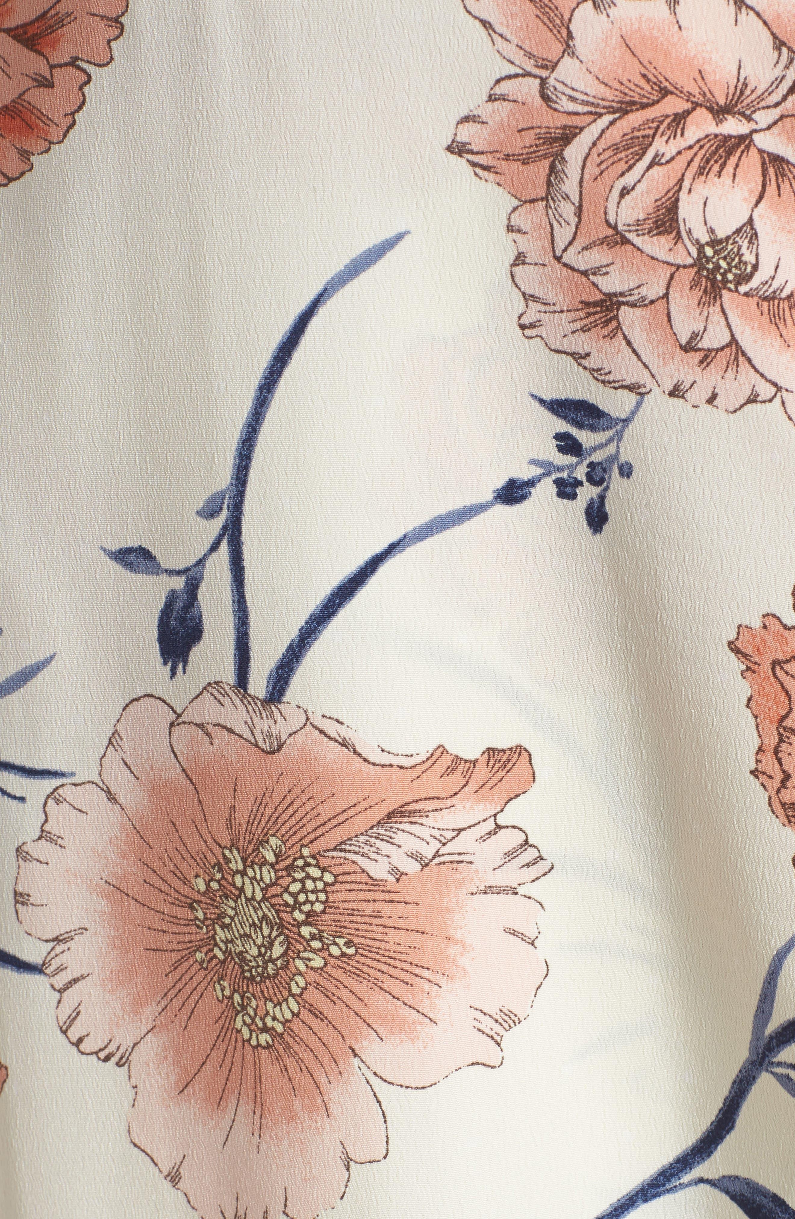Lucy Floral Wrap Dress,                             Alternate thumbnail 20, color,