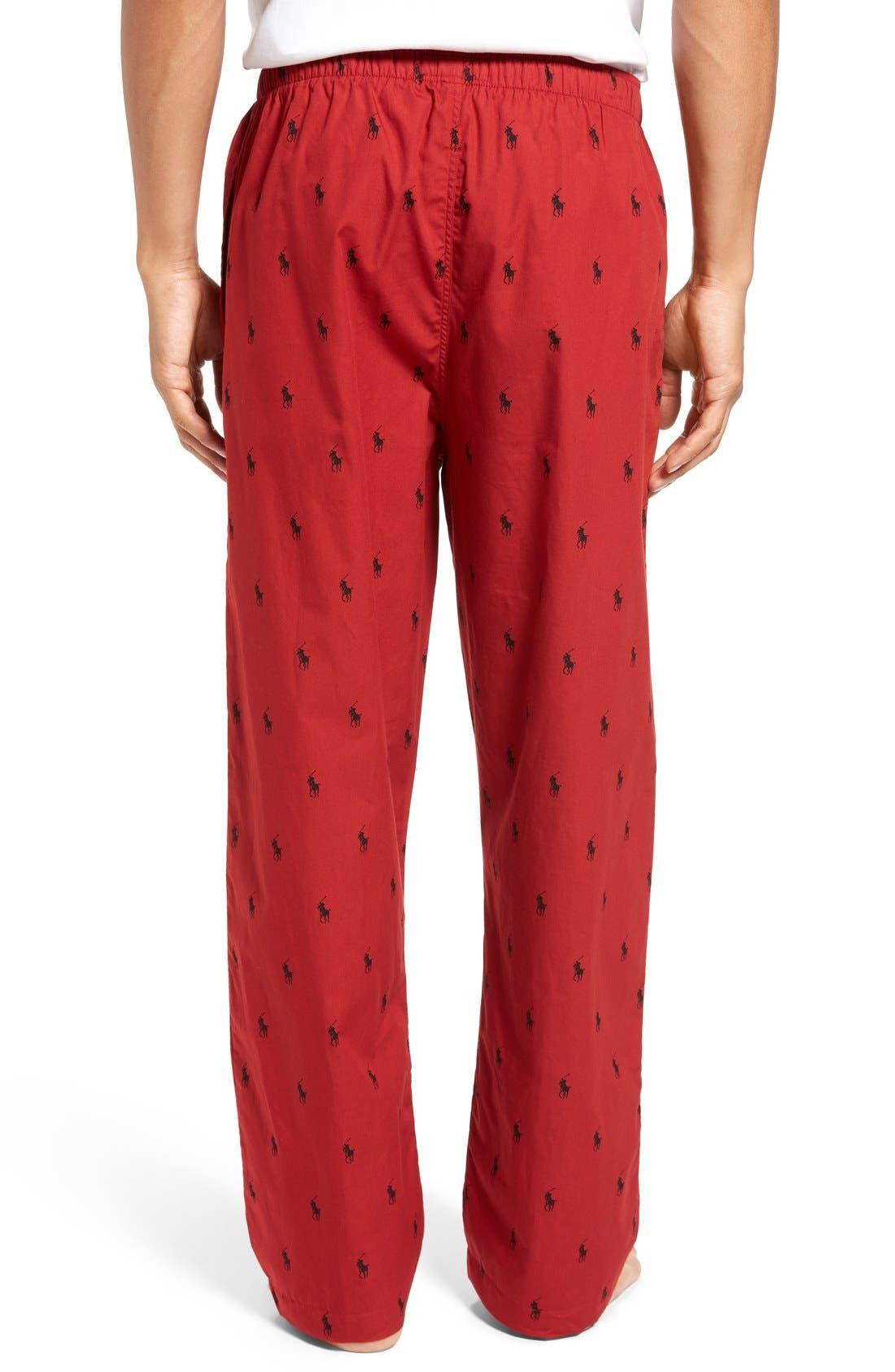 Cotton Lounge Pants,                             Alternate thumbnail 25, color,