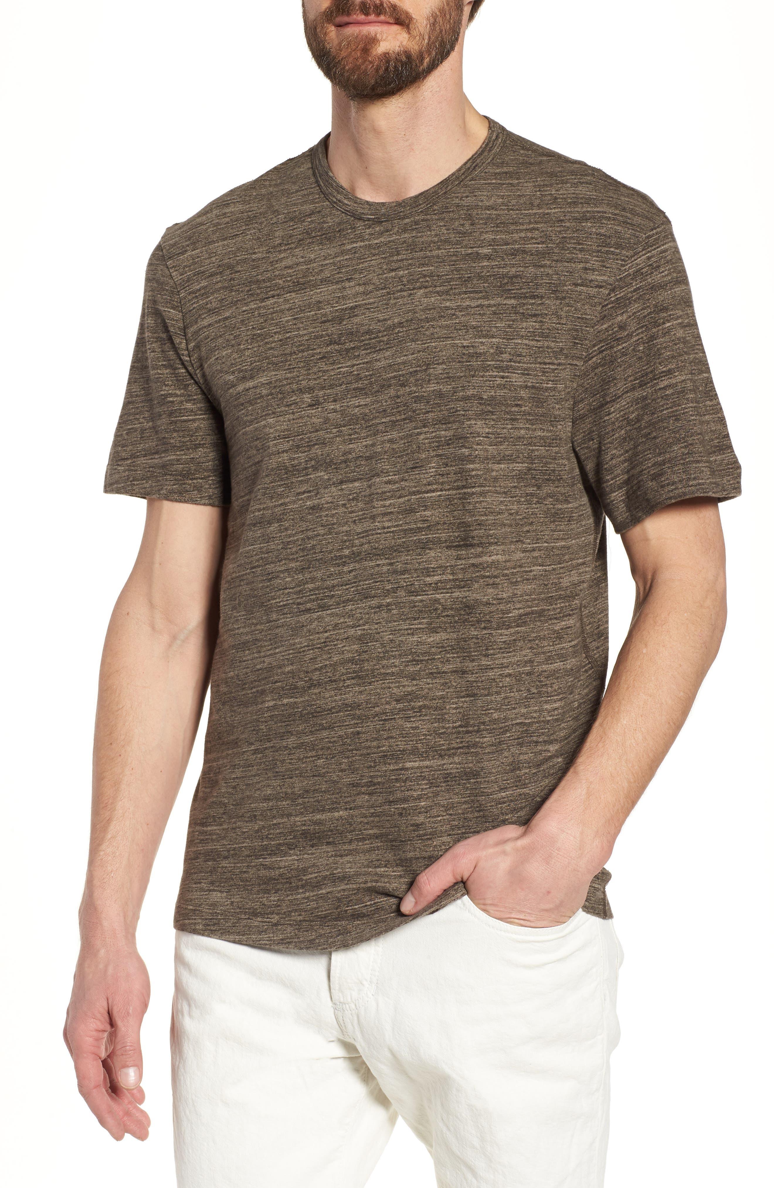 Regular Fit Top Dyed Crewneck T-Shirt,                             Main thumbnail 3, color,