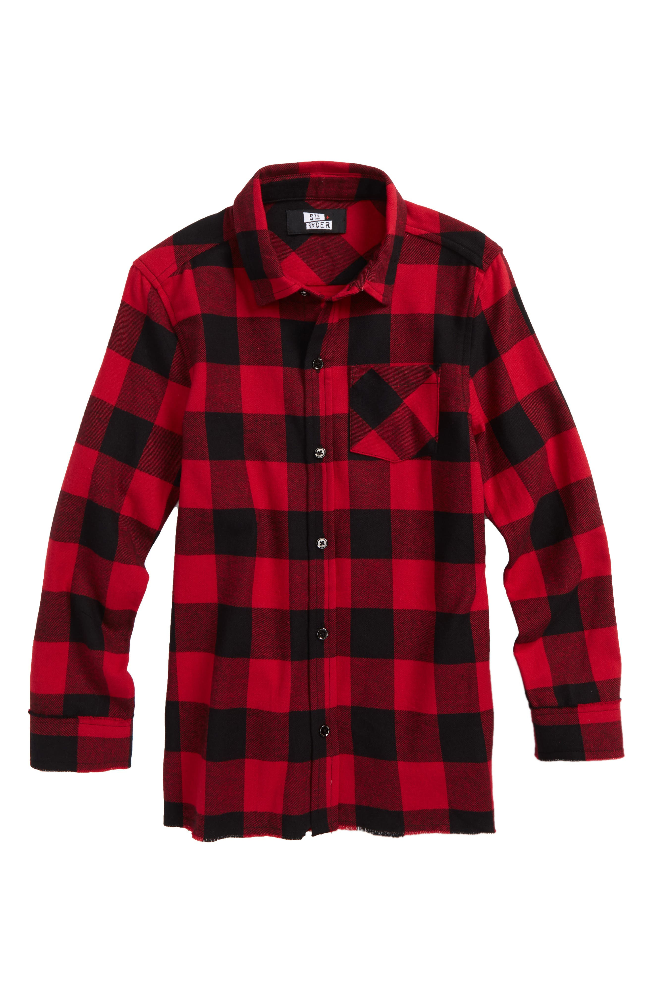 Buffalo Check Woven Shirt,                             Main thumbnail 1, color,                             610