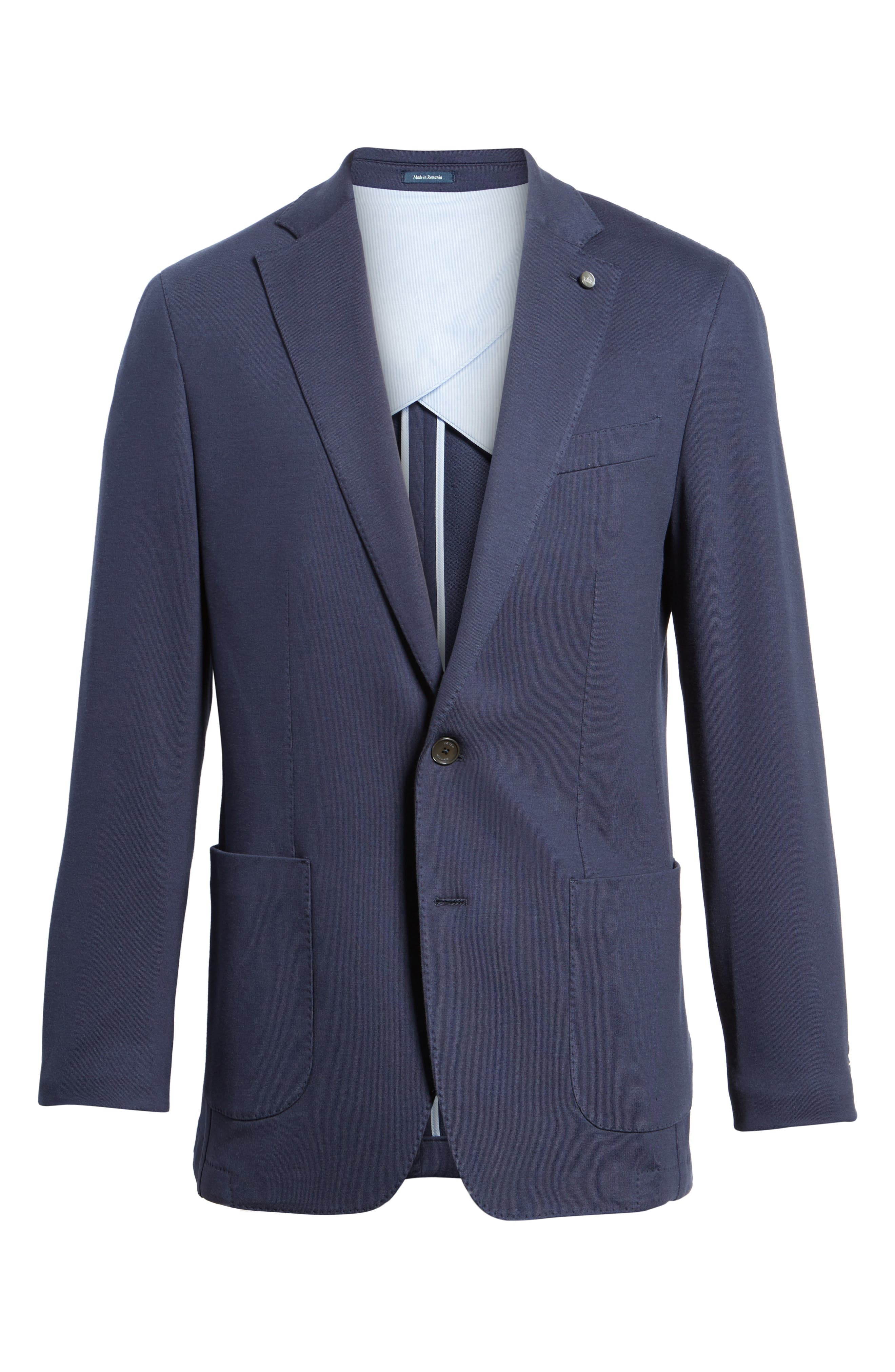 Santorini Jersey Knit Jacket,                             Alternate thumbnail 5, color,                             417