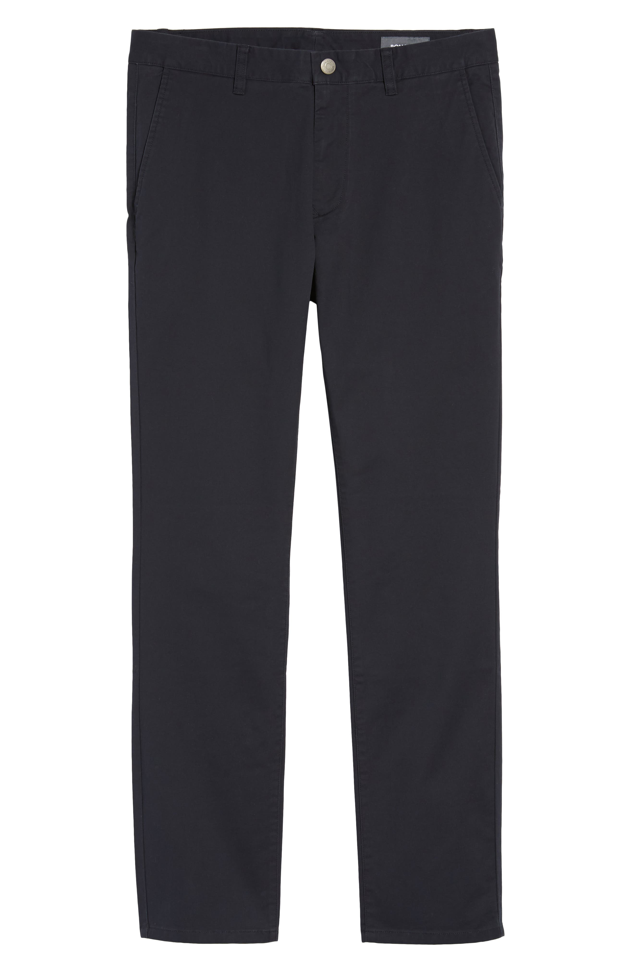 Tailored Fit Washed Stretch Cotton Chinos,                             Alternate thumbnail 200, color,