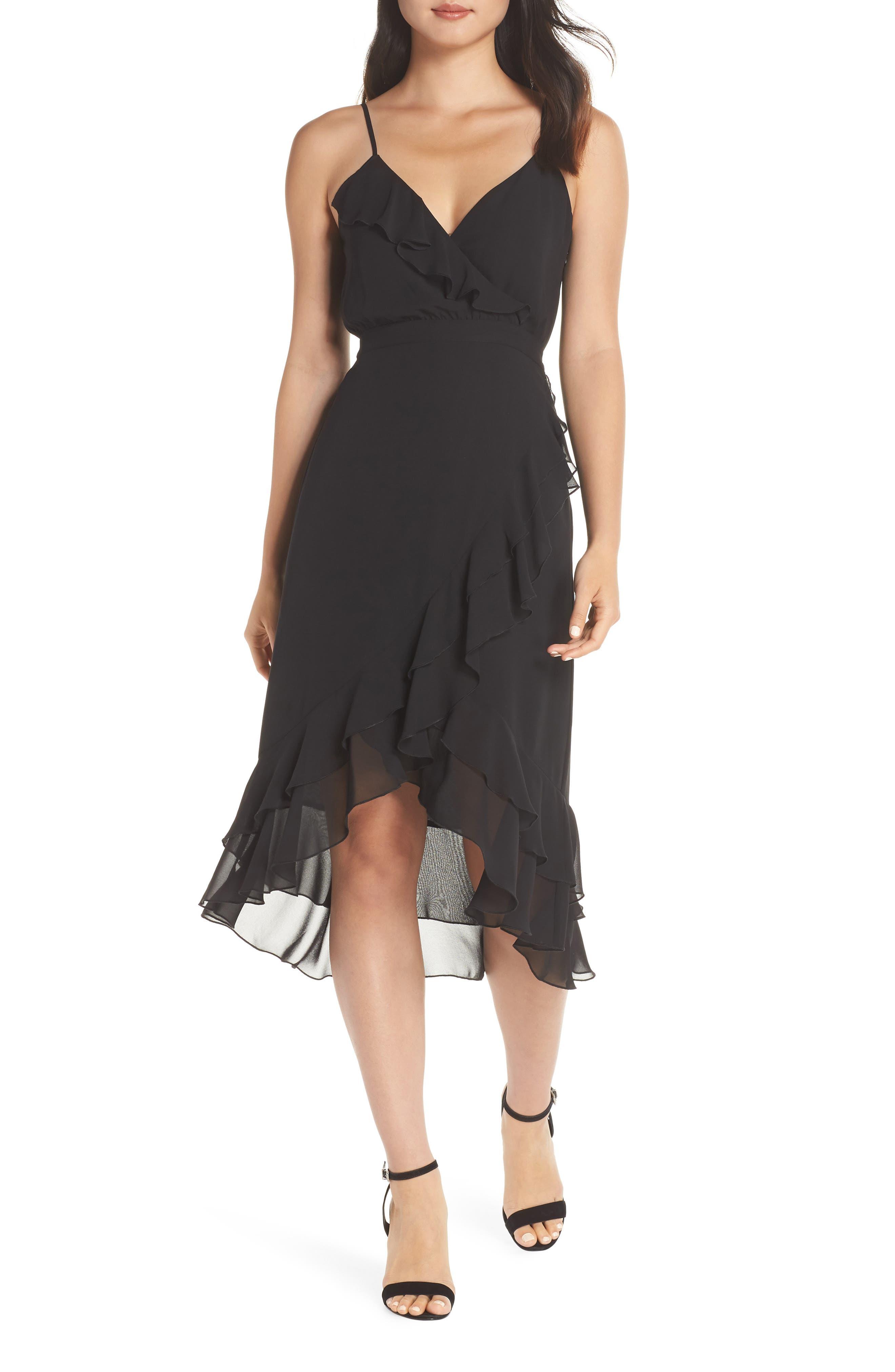 ALI & JAY Pretty Lady High/Low Dress in Black