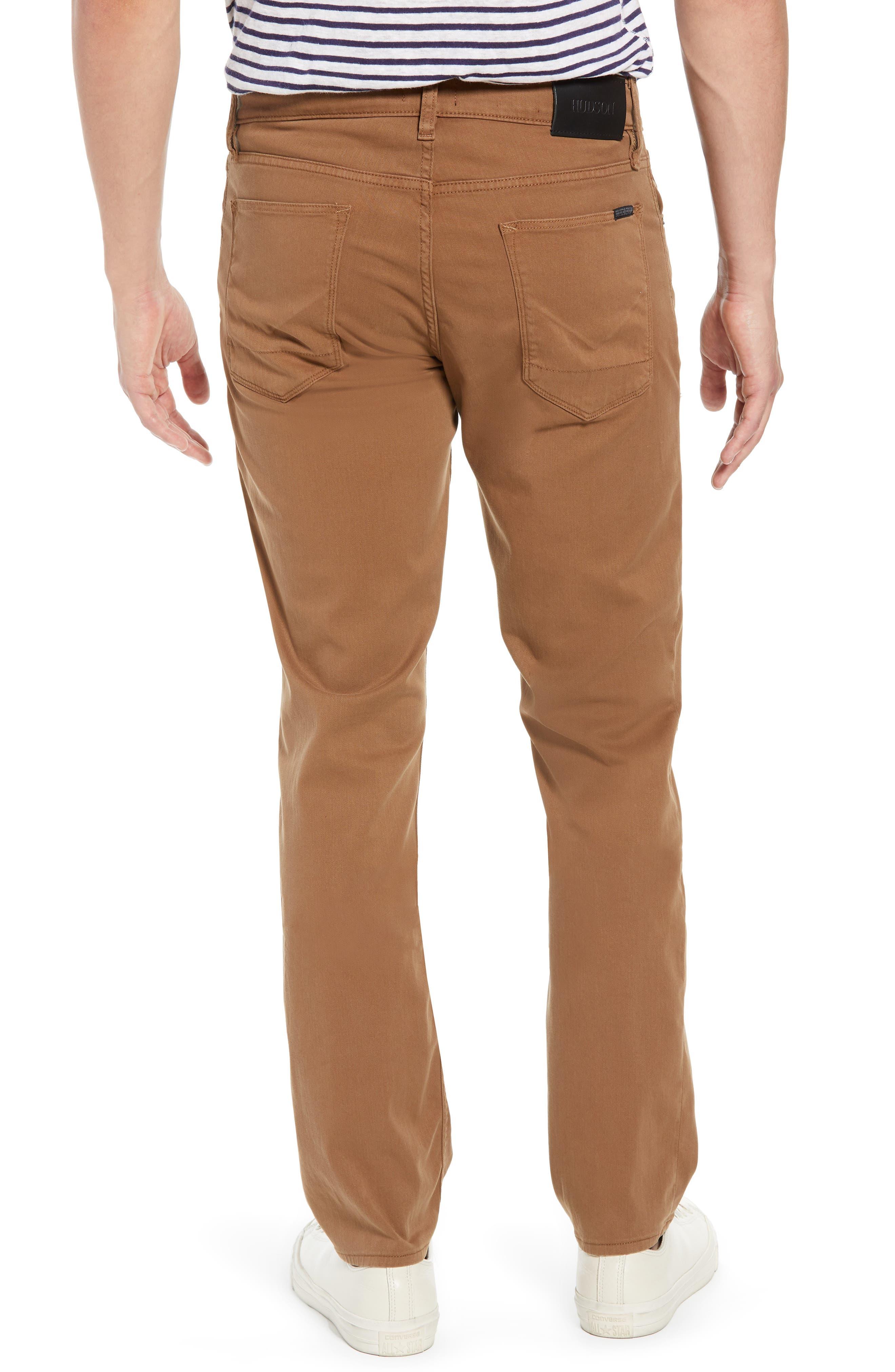 Hudson Blake Slim Fit Jeans,                             Alternate thumbnail 2, color,                             SIENNA