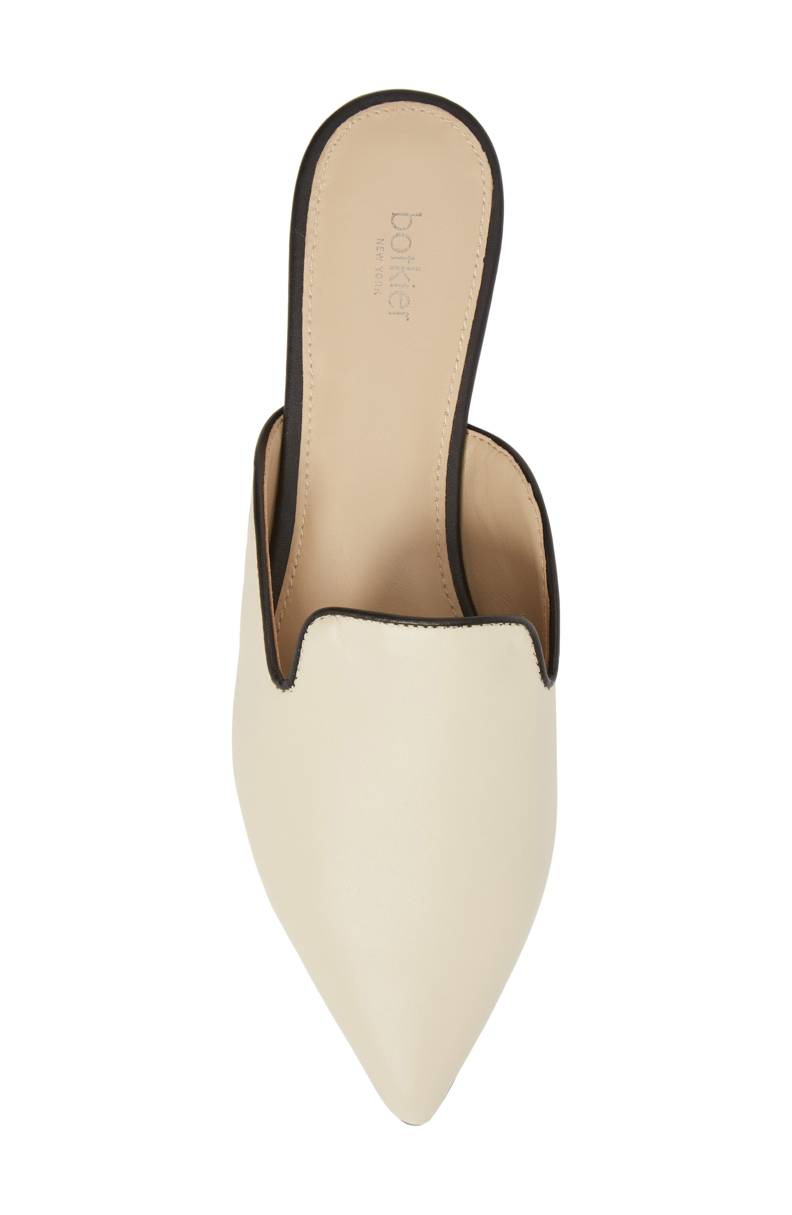 Palmer Mule,                             Alternate thumbnail 5, color,                             CREAM LEATHER
