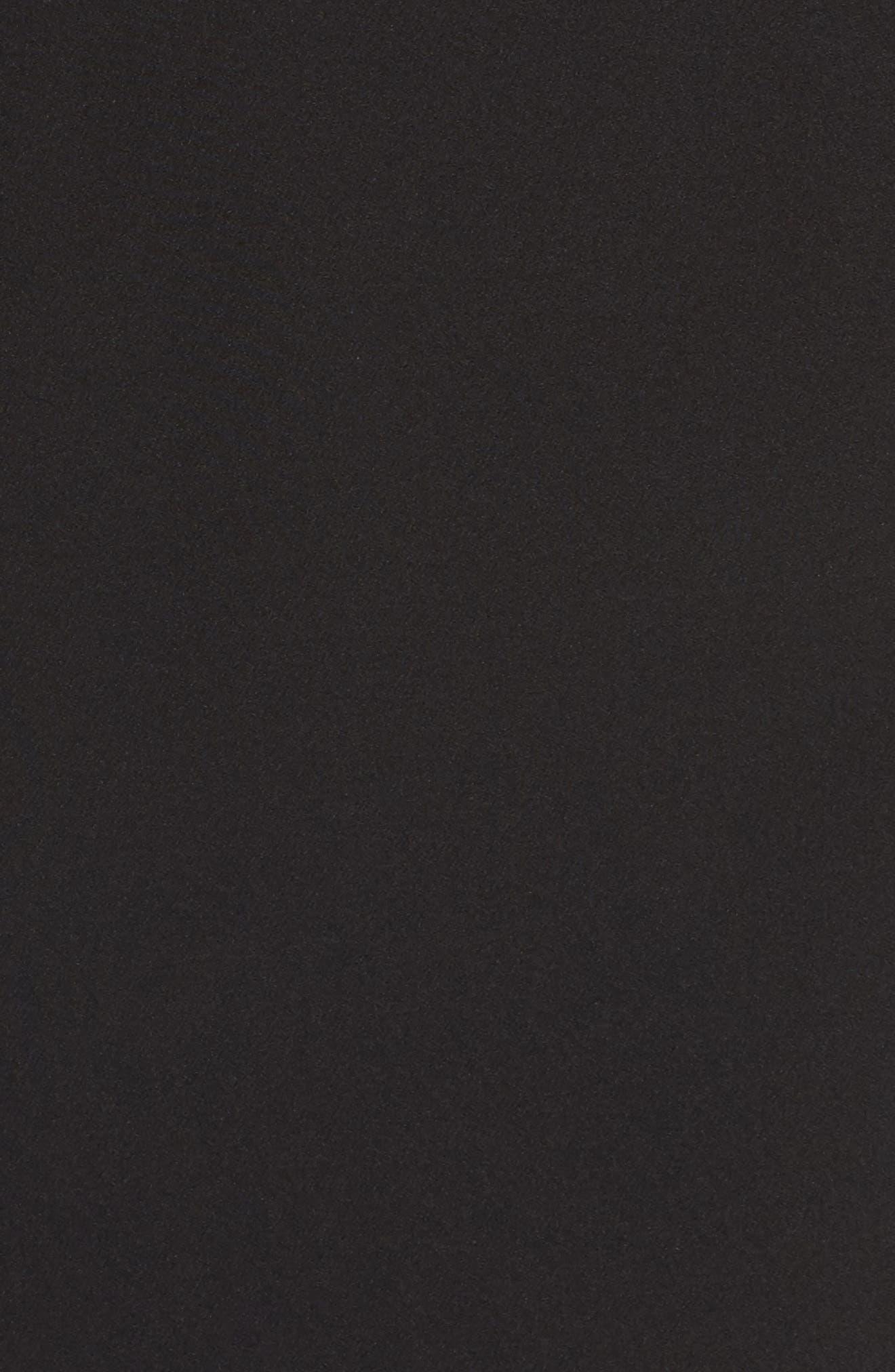 Laguna Cold Shoulder Sheath Dress,                             Alternate thumbnail 5, color,                             001