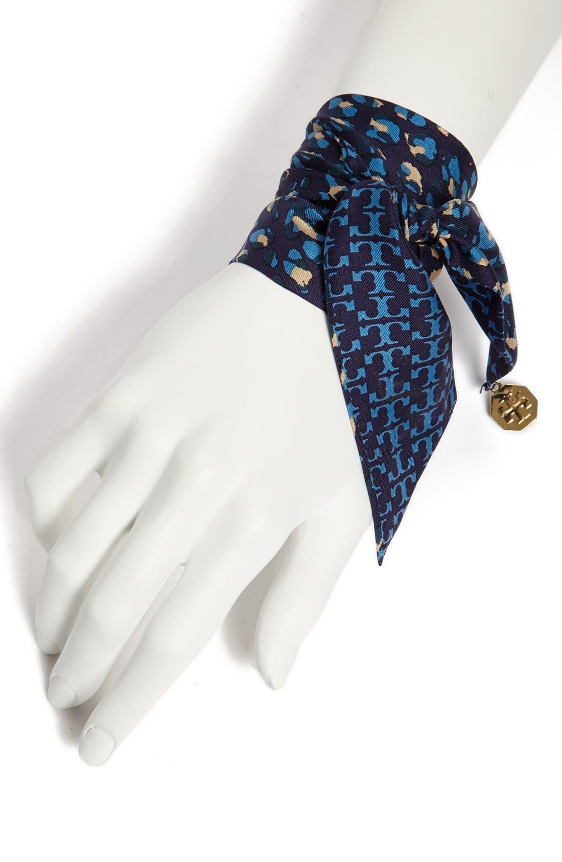Silk Wrist Scarf, Main, color, 400