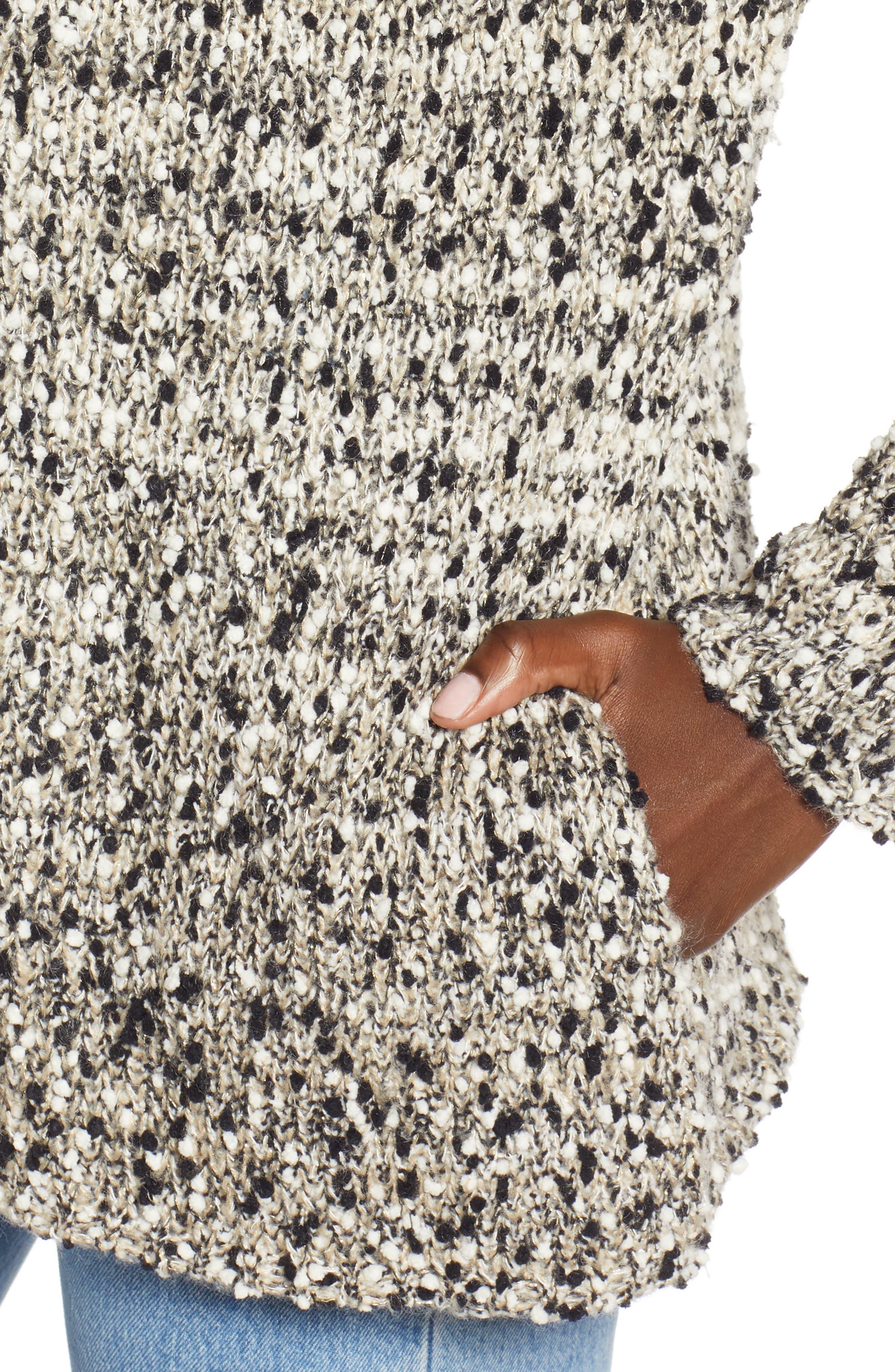 Slub Knit Cardigan,                             Alternate thumbnail 4, color,                             900