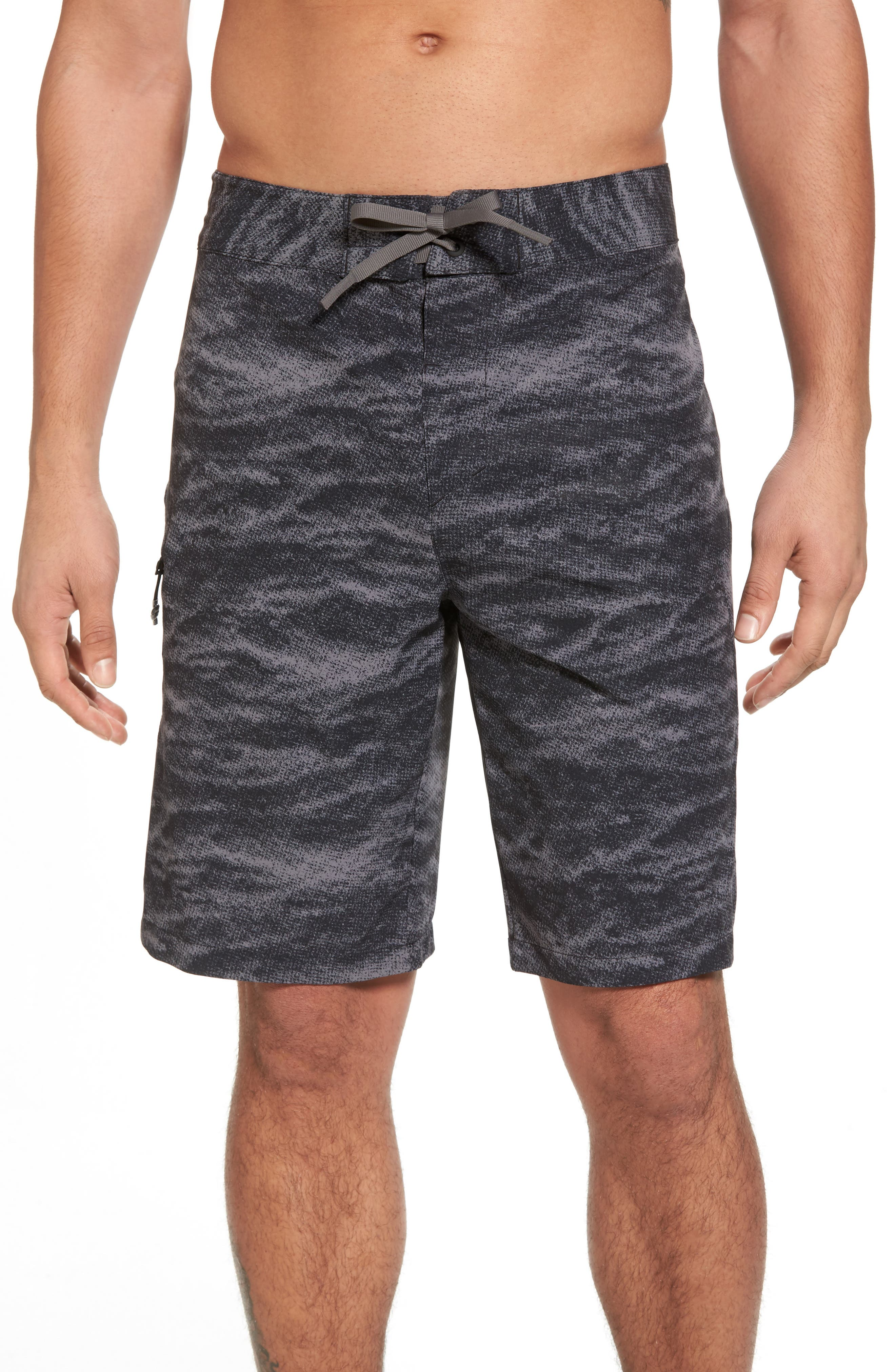 UNDER ARMOUR,                             Print Board Shorts,                             Main thumbnail 1, color,                             004