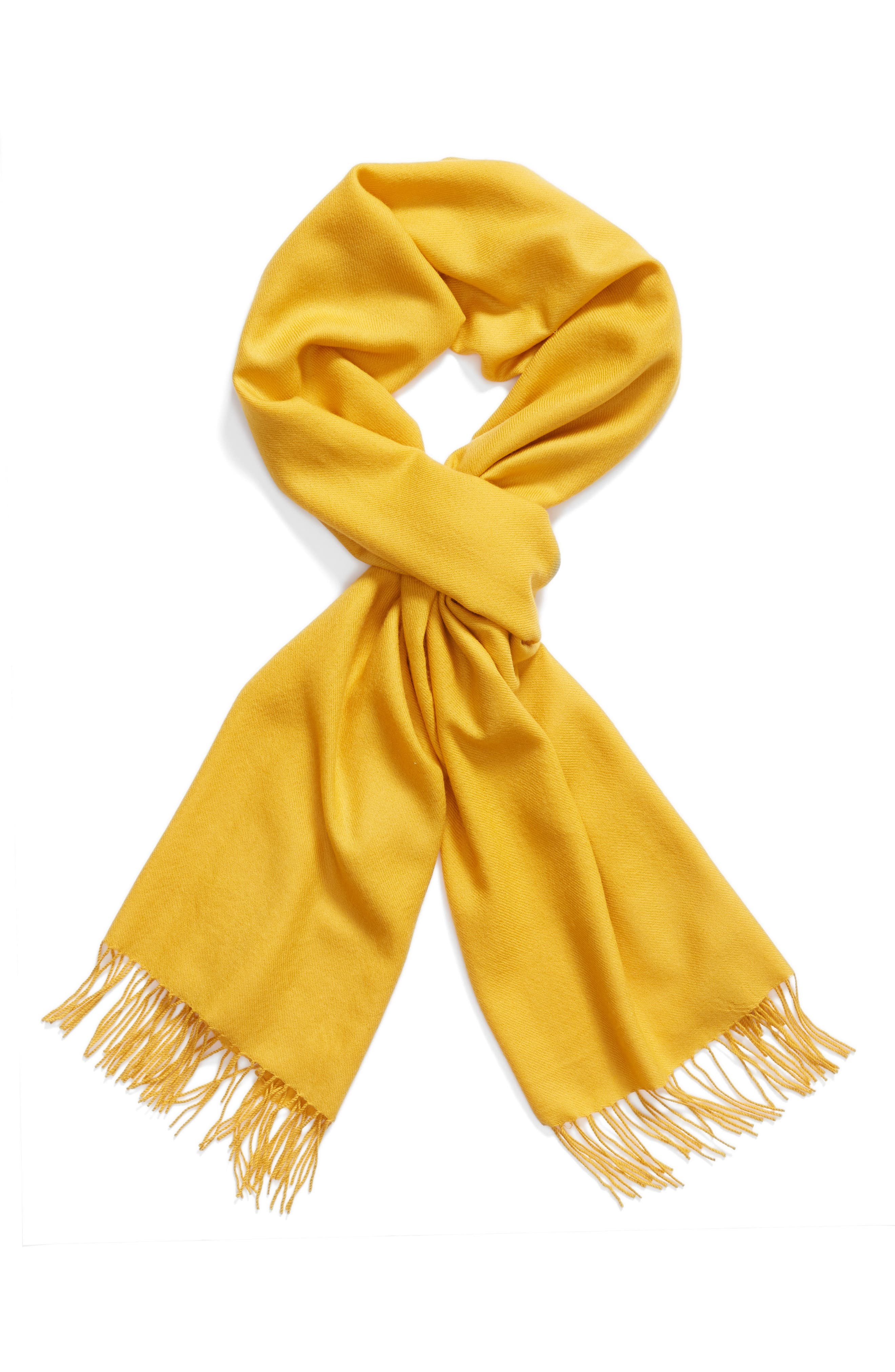 Tissue Weight Wool & Cashmere Scarf,                             Alternate thumbnail 83, color,