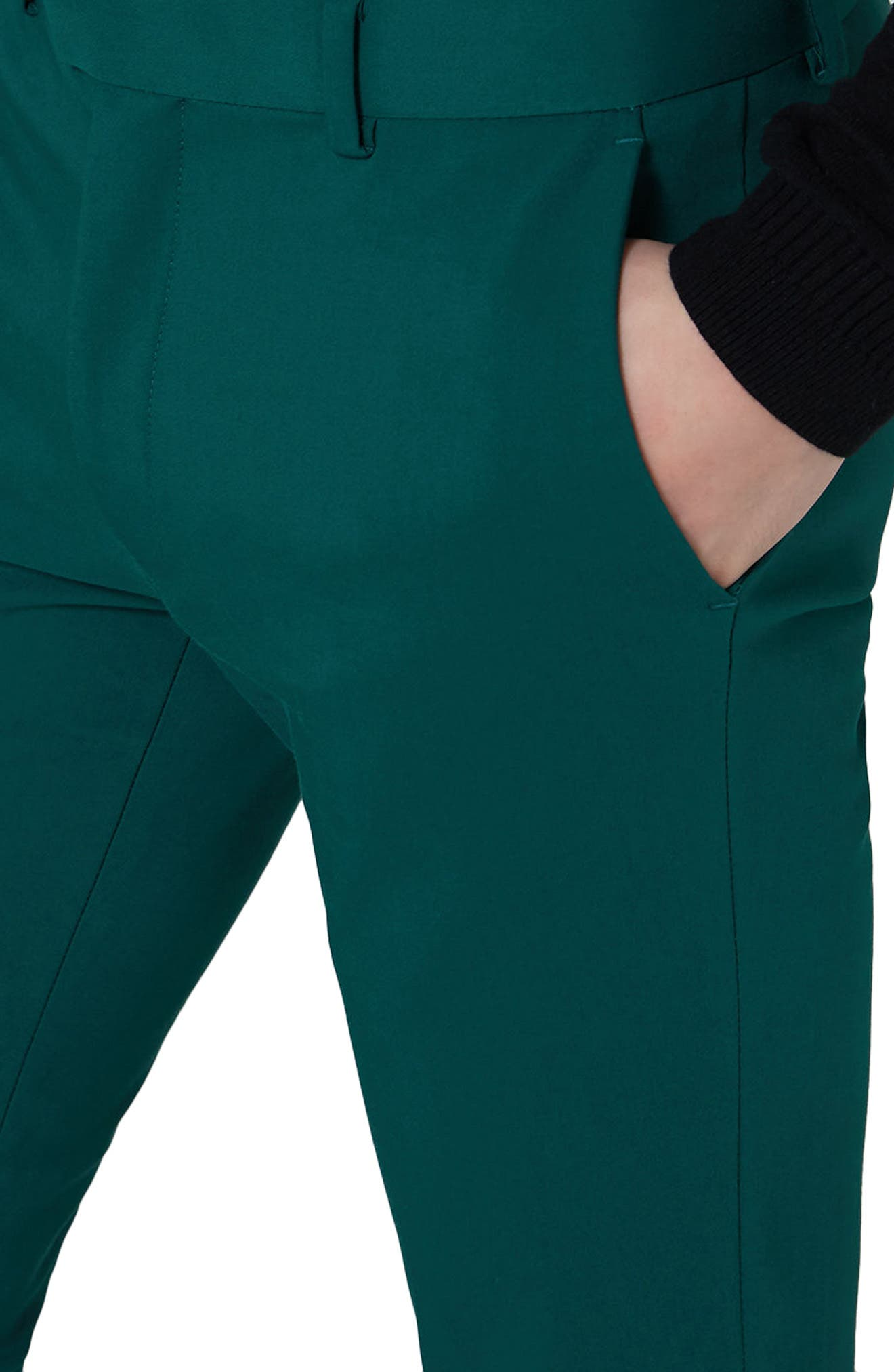 Skinny Fit Suit Trousers,                             Alternate thumbnail 3, color,