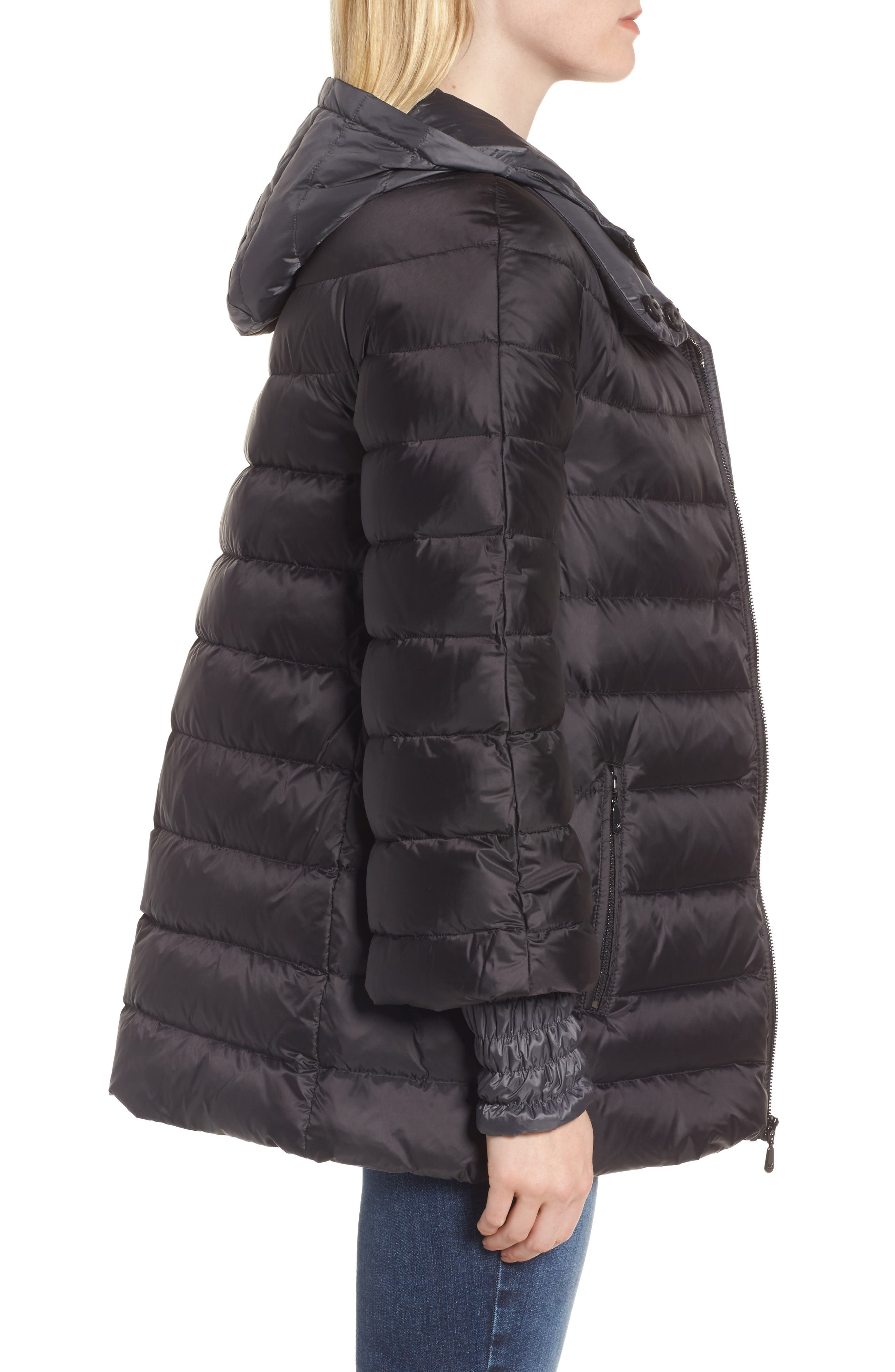 3-in-1 Layered Packable Quilted Down Coat,                             Alternate thumbnail 7, color,