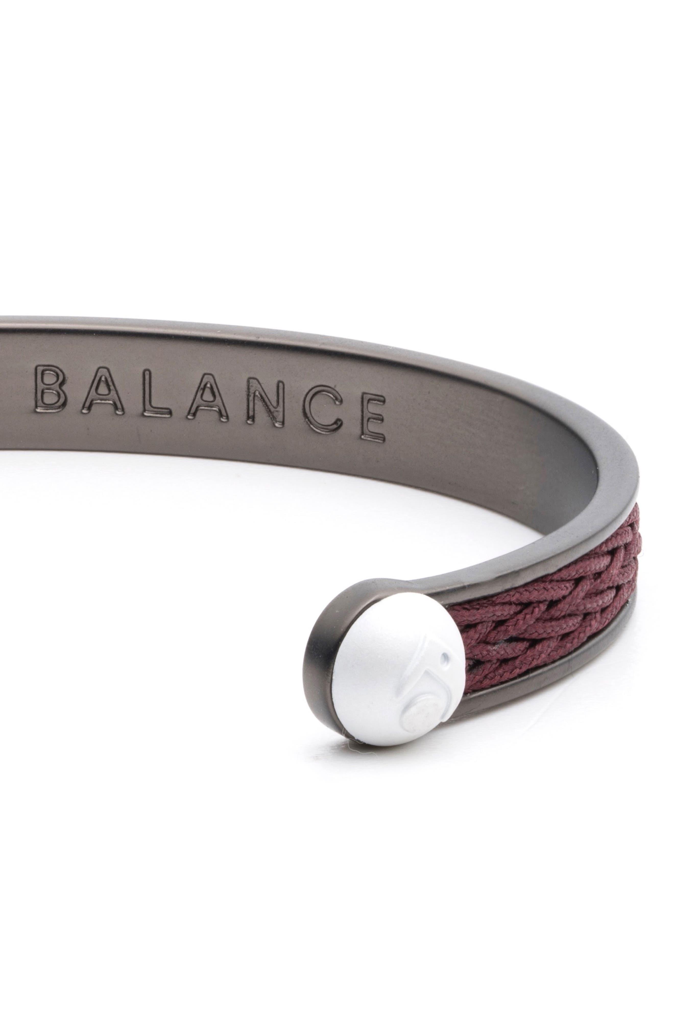 Braided Cuff Bracelet,                             Alternate thumbnail 9, color,