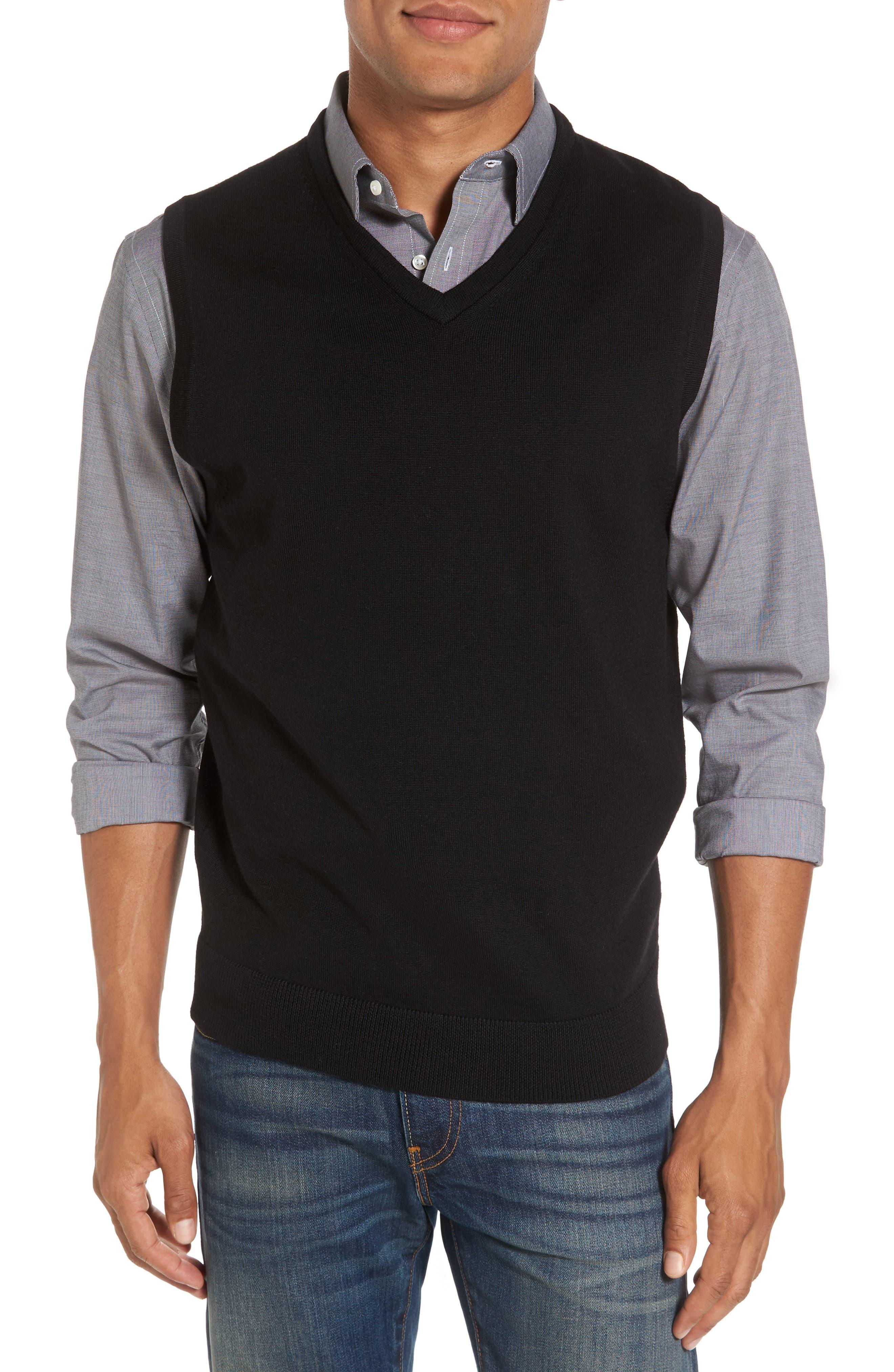 Nordstrom Shop Merino Wool Sweater Vest