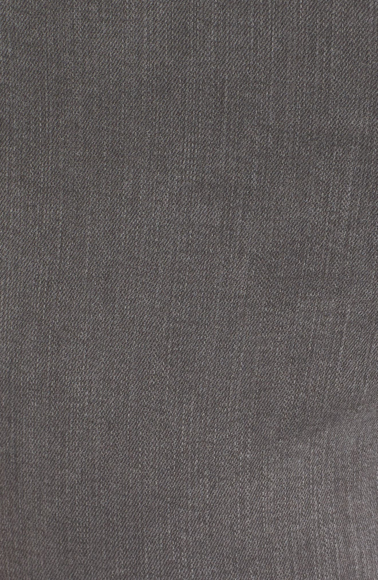Ami Frayed Hem Stretch Skinny Ankle Jeans,                             Alternate thumbnail 5, color,                             038
