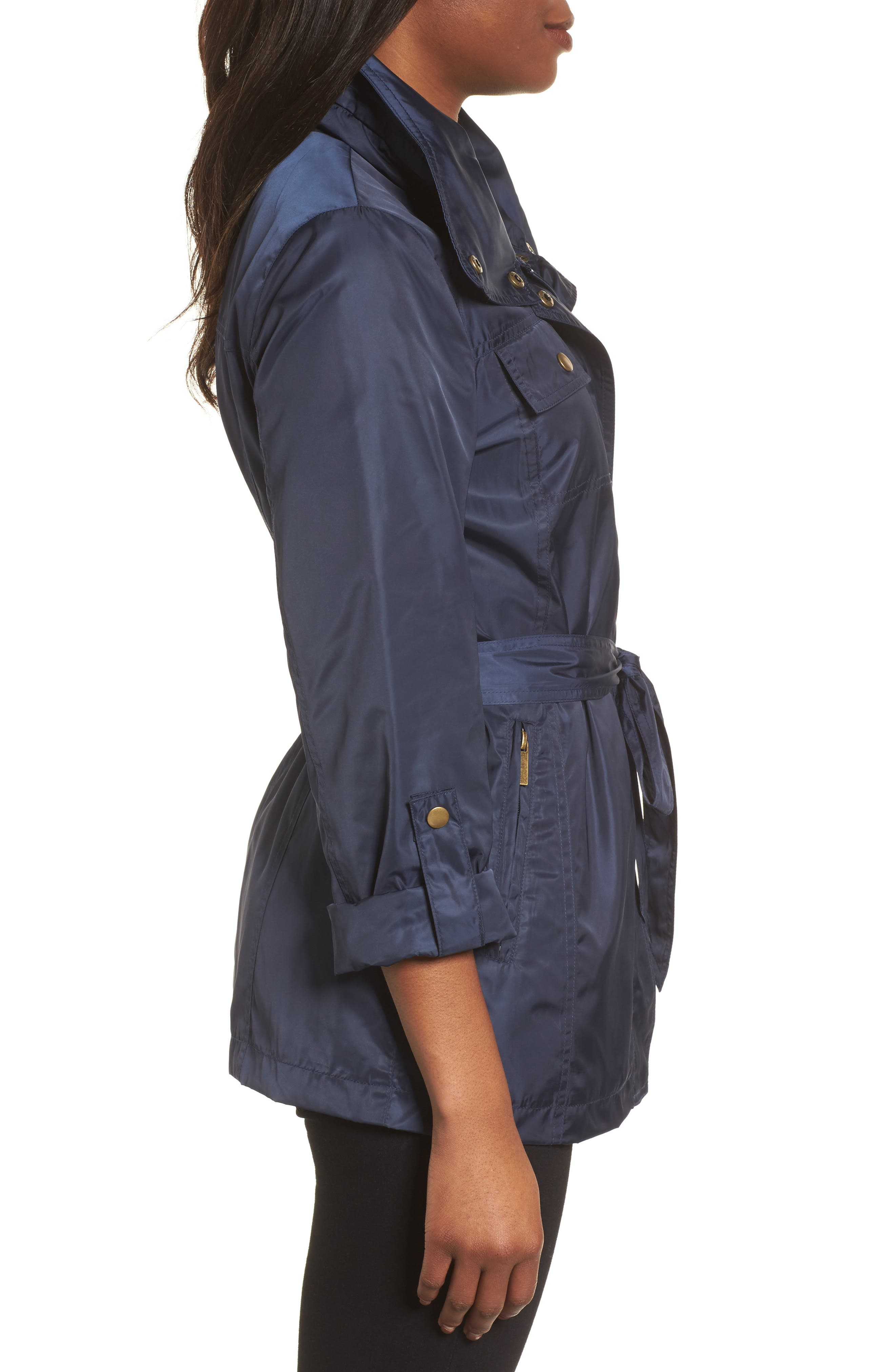 Belted Lightweight Jacket,                             Alternate thumbnail 11, color,