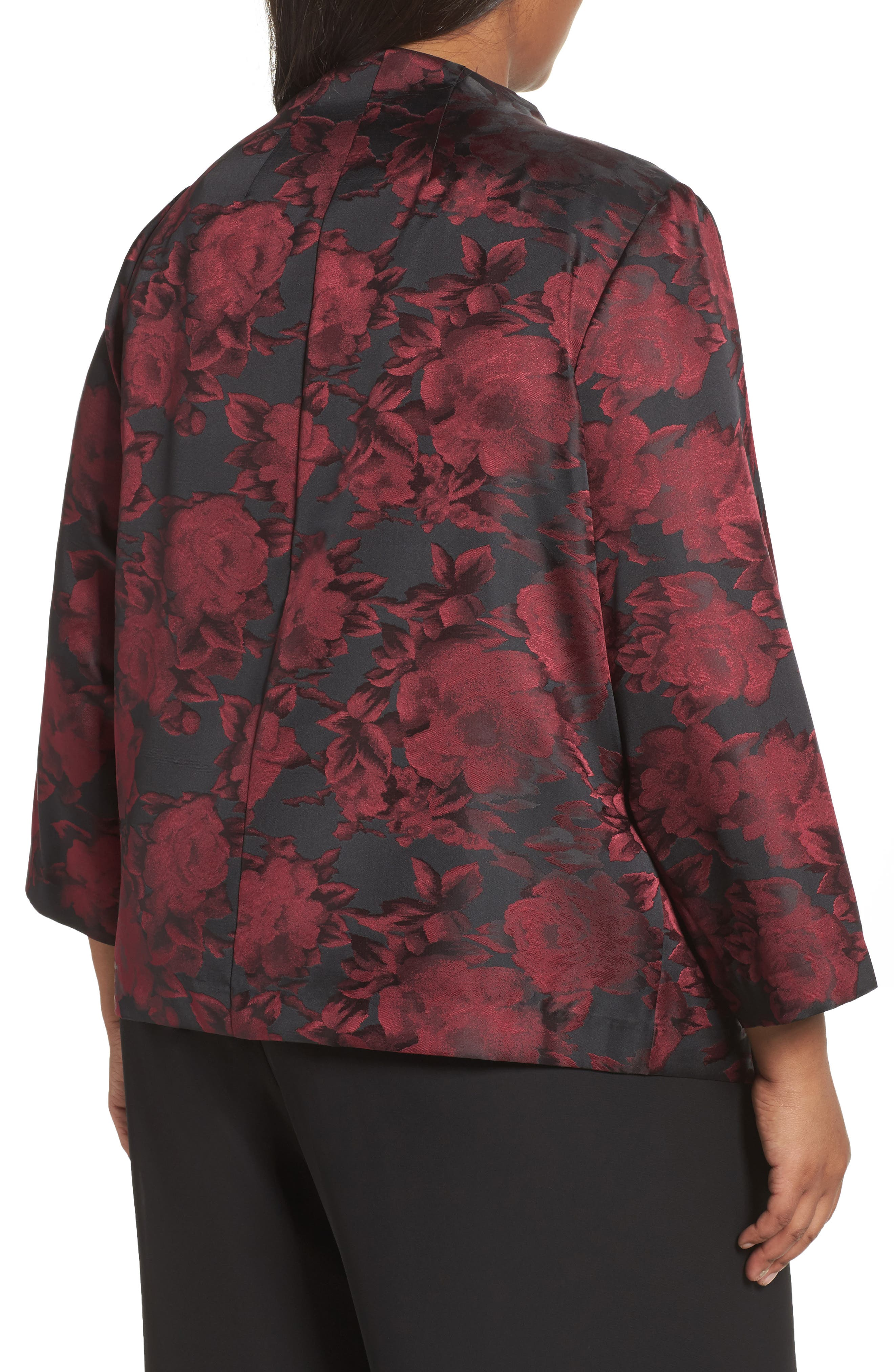 Floral Print Twinset,                             Alternate thumbnail 2, color,                             645