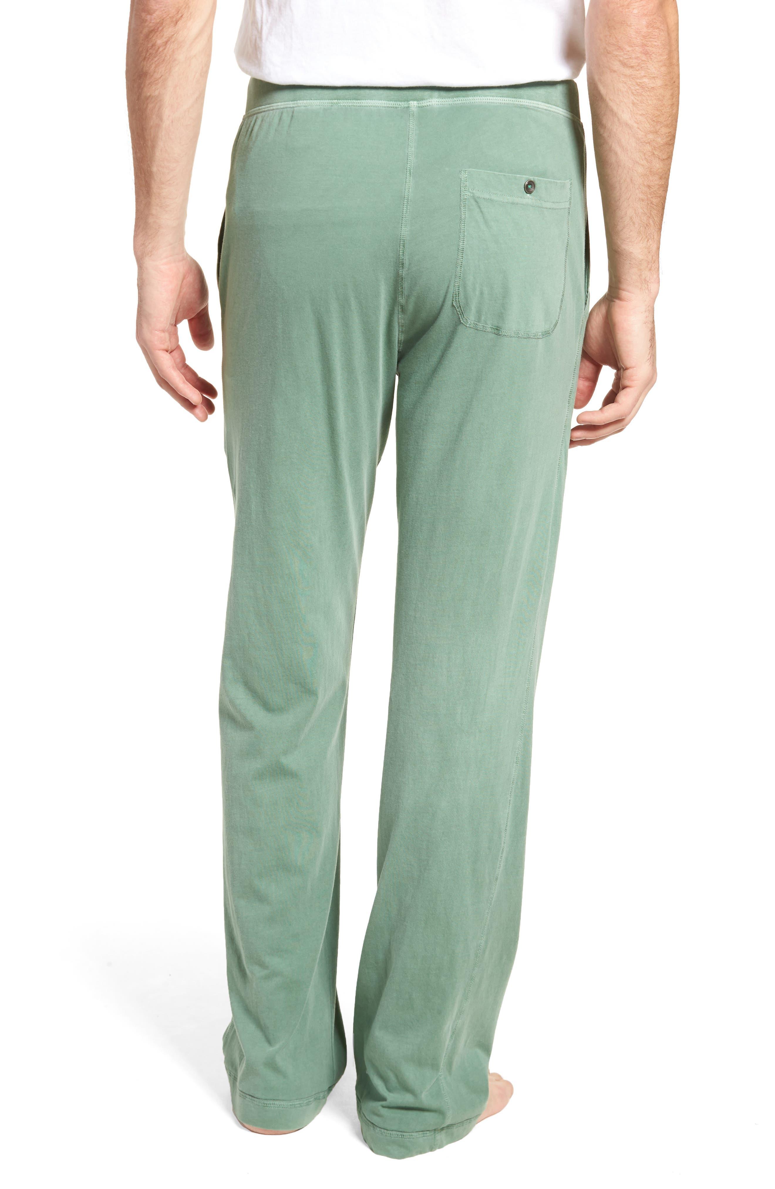 Peruvian Pima Cotton Lounge Pants,                             Alternate thumbnail 2, color,                             MOSS