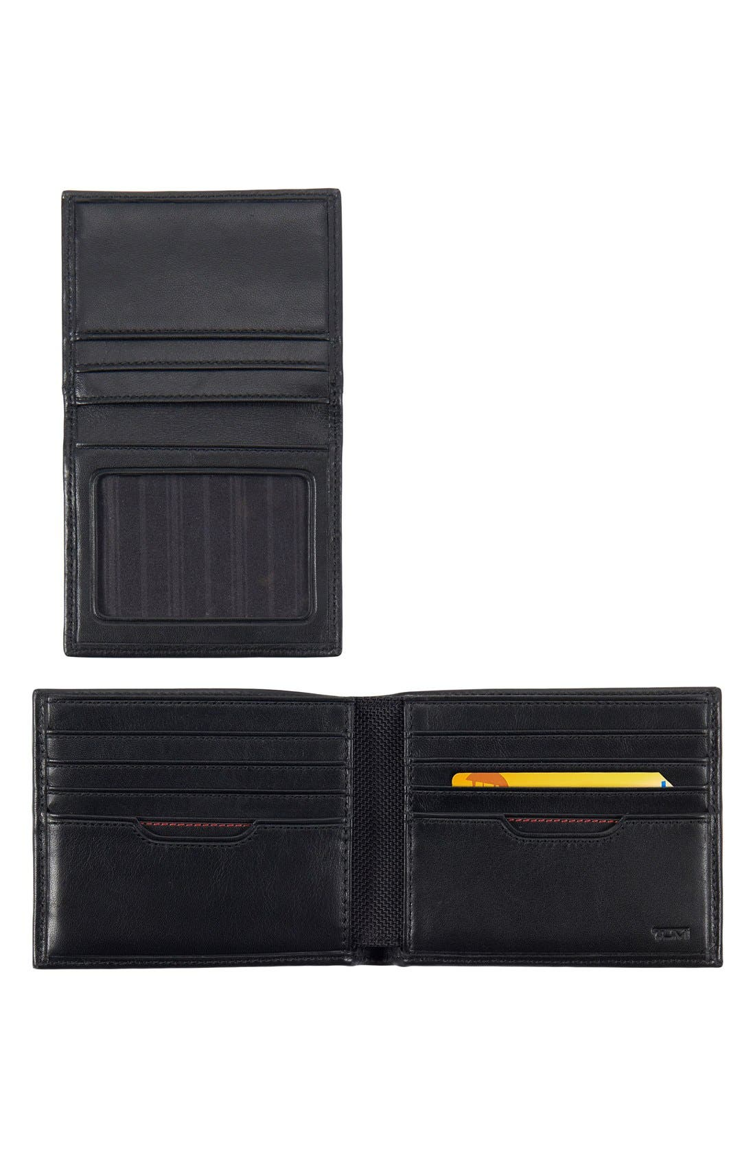 Delta Global - ID Lock<sup>™</sup> Shielded Removable Passcase ID Wallet,                             Alternate thumbnail 2, color,                             BLACK