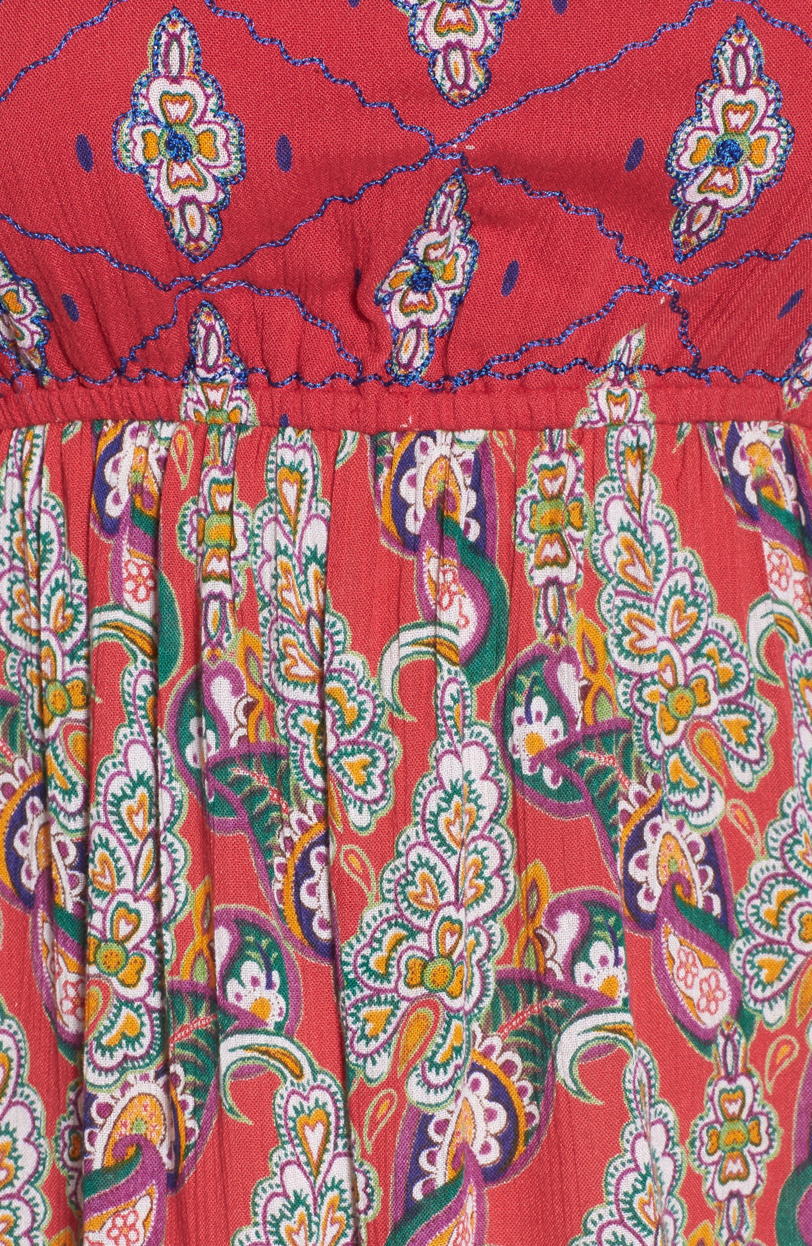 Alice Bell Sleeve Babydoll Dress,                             Alternate thumbnail 5, color,                             645