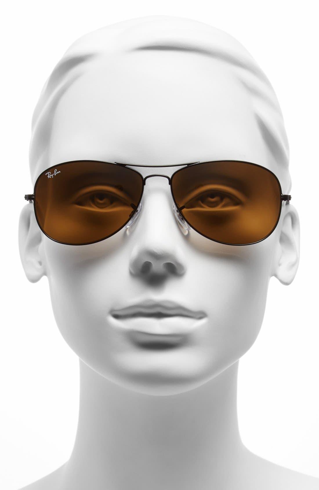'New Classic' 59mm Aviator Sunglasses,                             Alternate thumbnail 2, color,                             200
