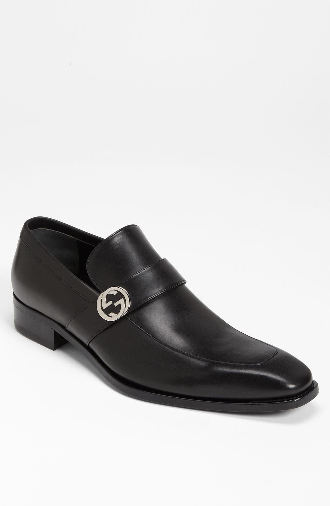 GUCCI,                             'Double G' Loafer,                             Main thumbnail 1, color,                             005