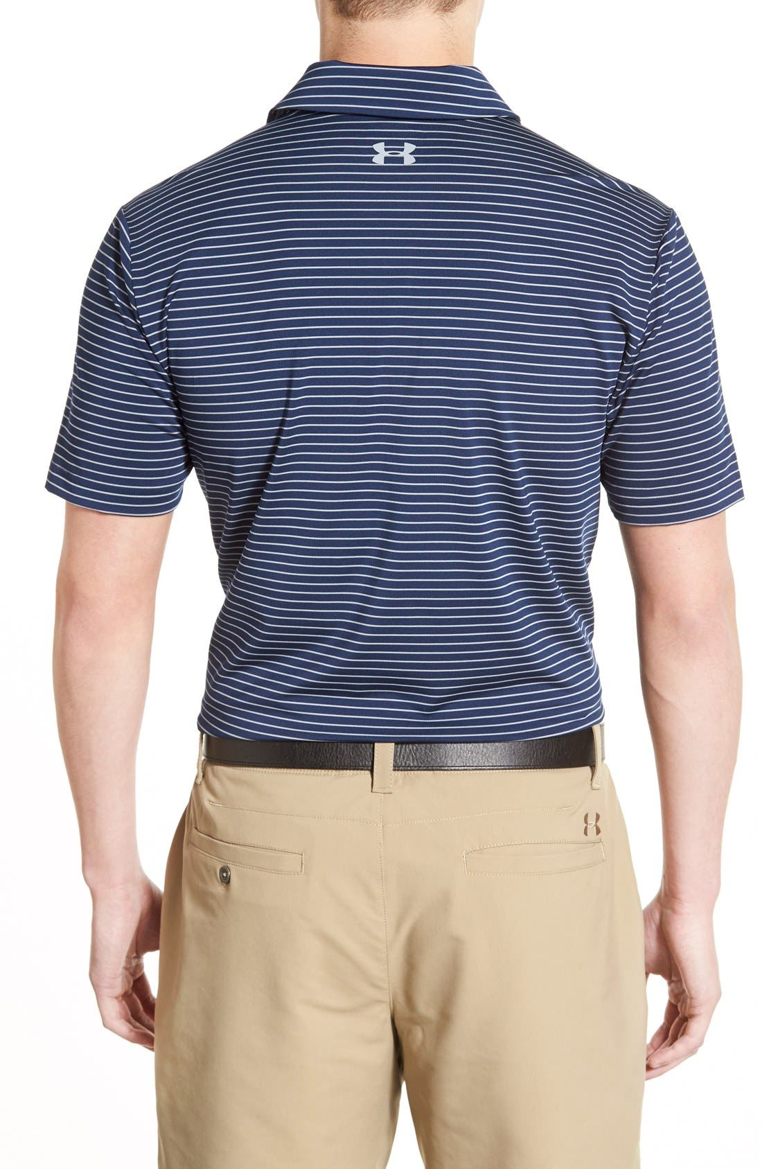 'Playoff' Loose Fit Short Sleeve Polo,                             Alternate thumbnail 261, color,