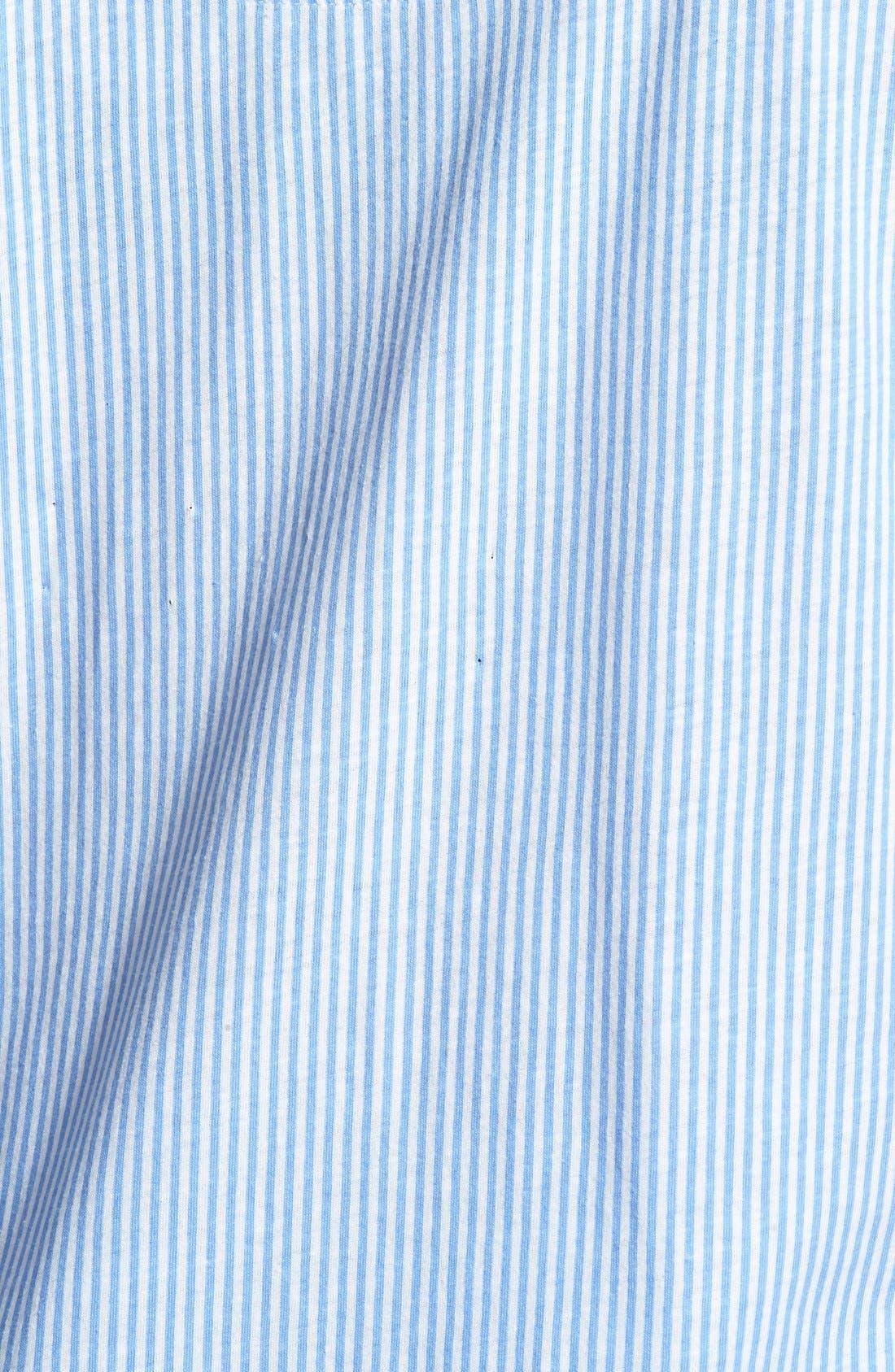 Knit Crop Pajamas,                             Alternate thumbnail 18, color,