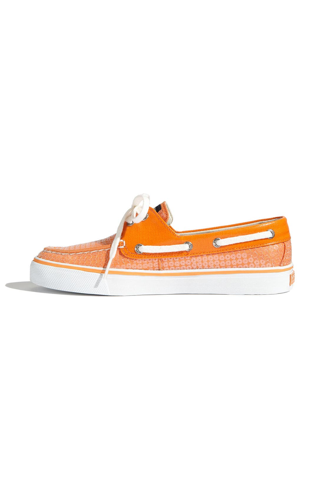Top-Sider<sup>®</sup> 'Bahama' Sequined Boat Shoe,                             Alternate thumbnail 90, color,