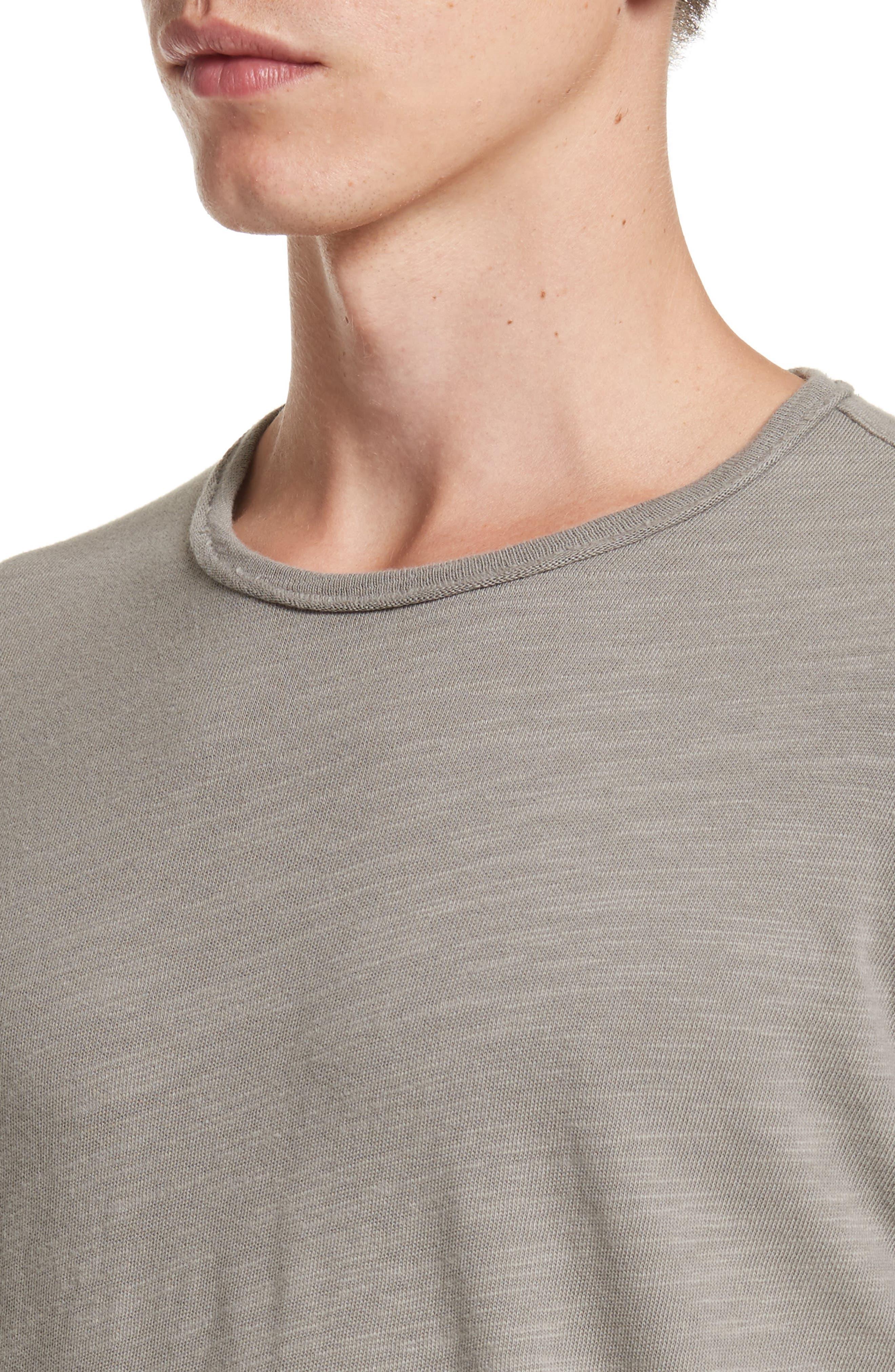 Standard Issue Slubbed Cotton T-Shirt,                             Alternate thumbnail 4, color,                             010
