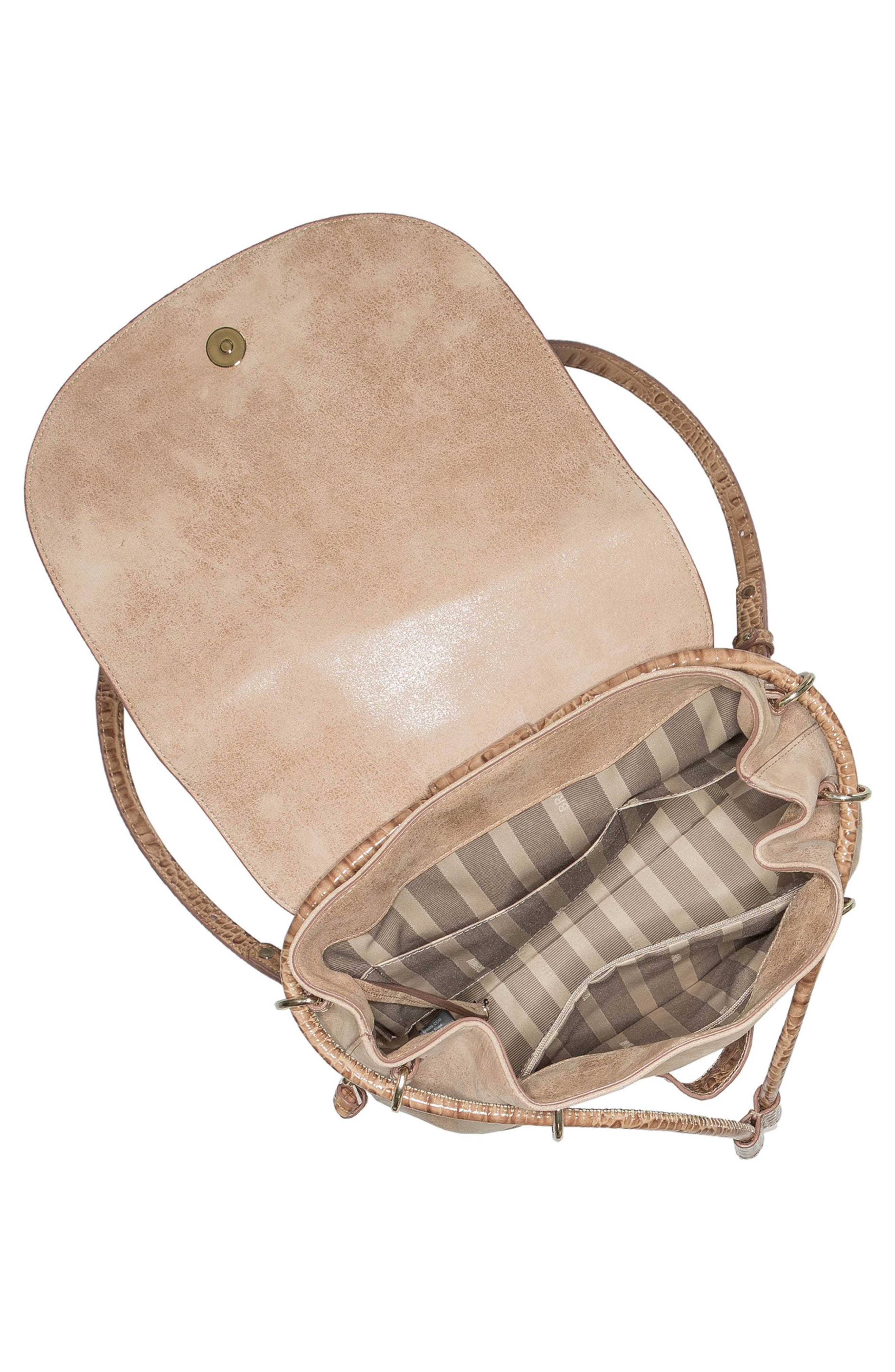 Josie Leather Backpack,                             Alternate thumbnail 3, color,                             200