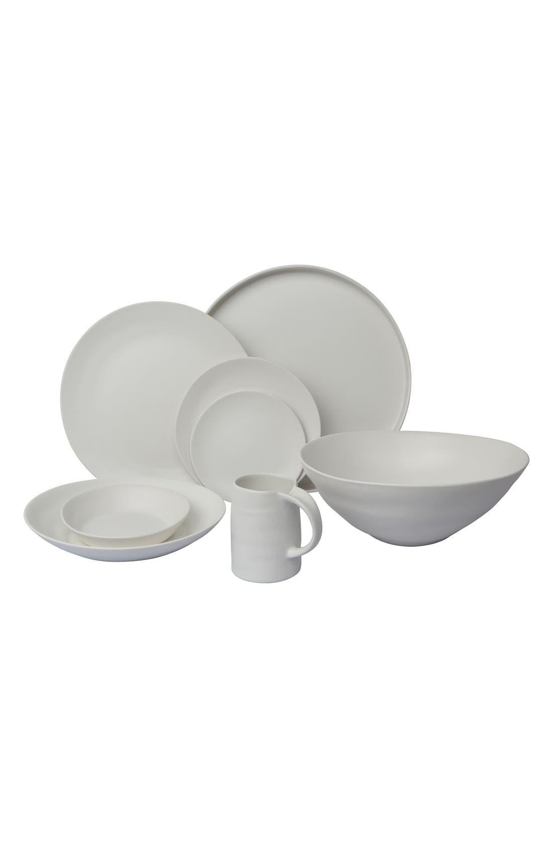 'Ripple' Porcelain Serving Bowl,                             Alternate thumbnail 2, color,