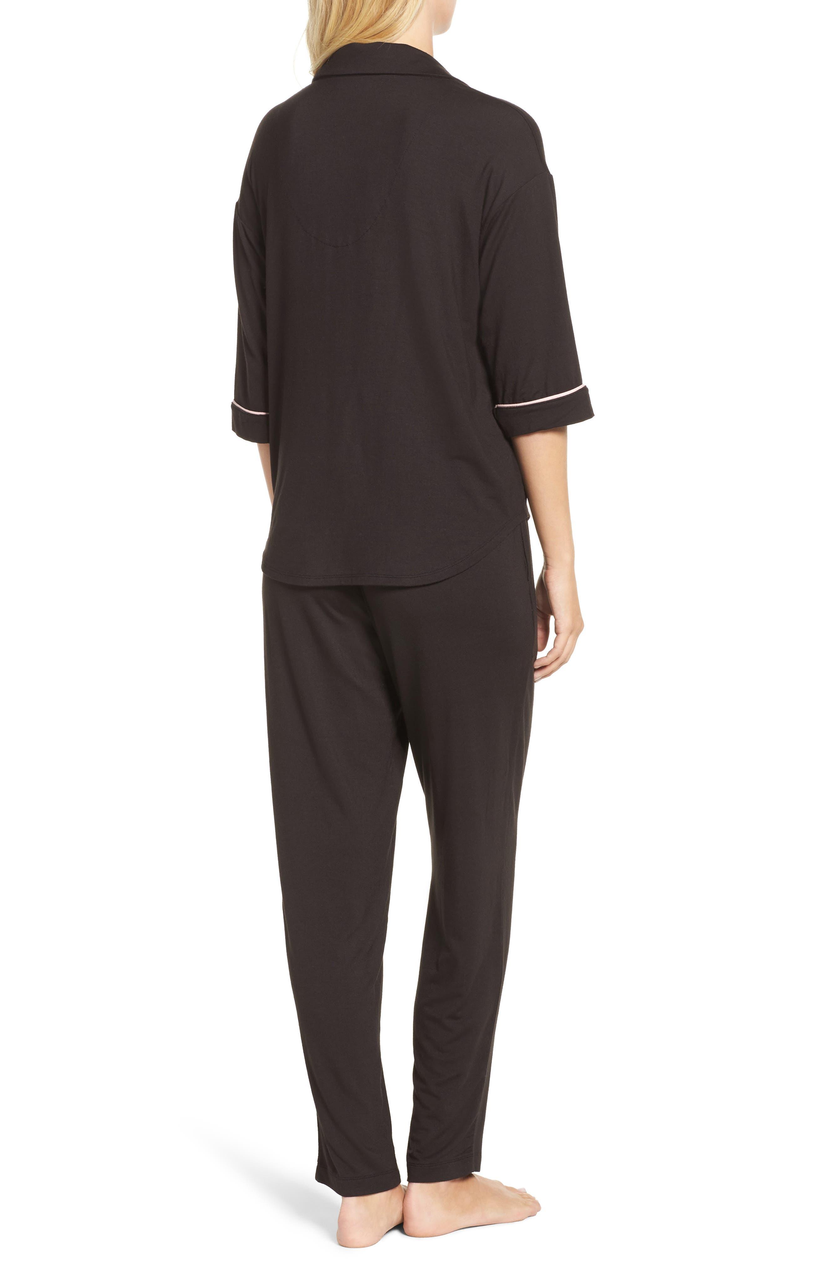 Jersey Pajamas,                             Alternate thumbnail 2, color,                             001