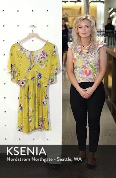 Sweet Nothing Print Dress, sales video thumbnail