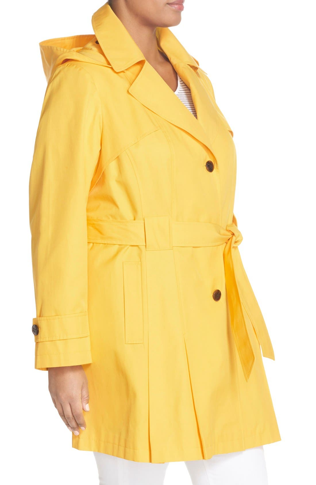 'Scarpa' Single Breasted Trench Coat,                             Alternate thumbnail 12, color,