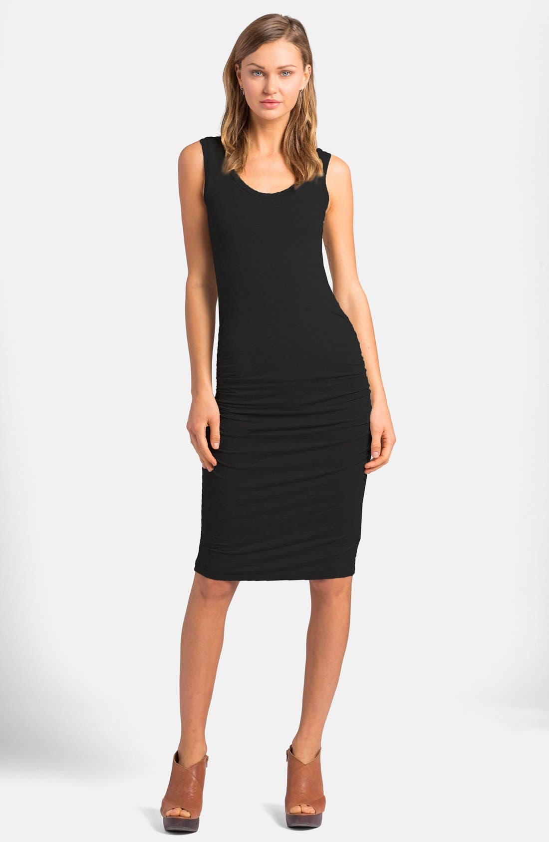 'Frankie' Ruched Tank Dress,                         Main,                         color,