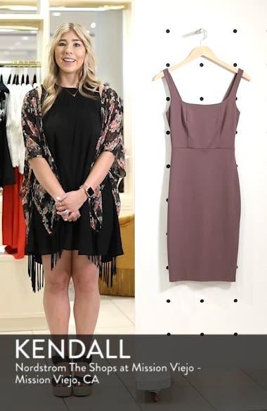 Rachel Bodycon Dress, sales video thumbnail