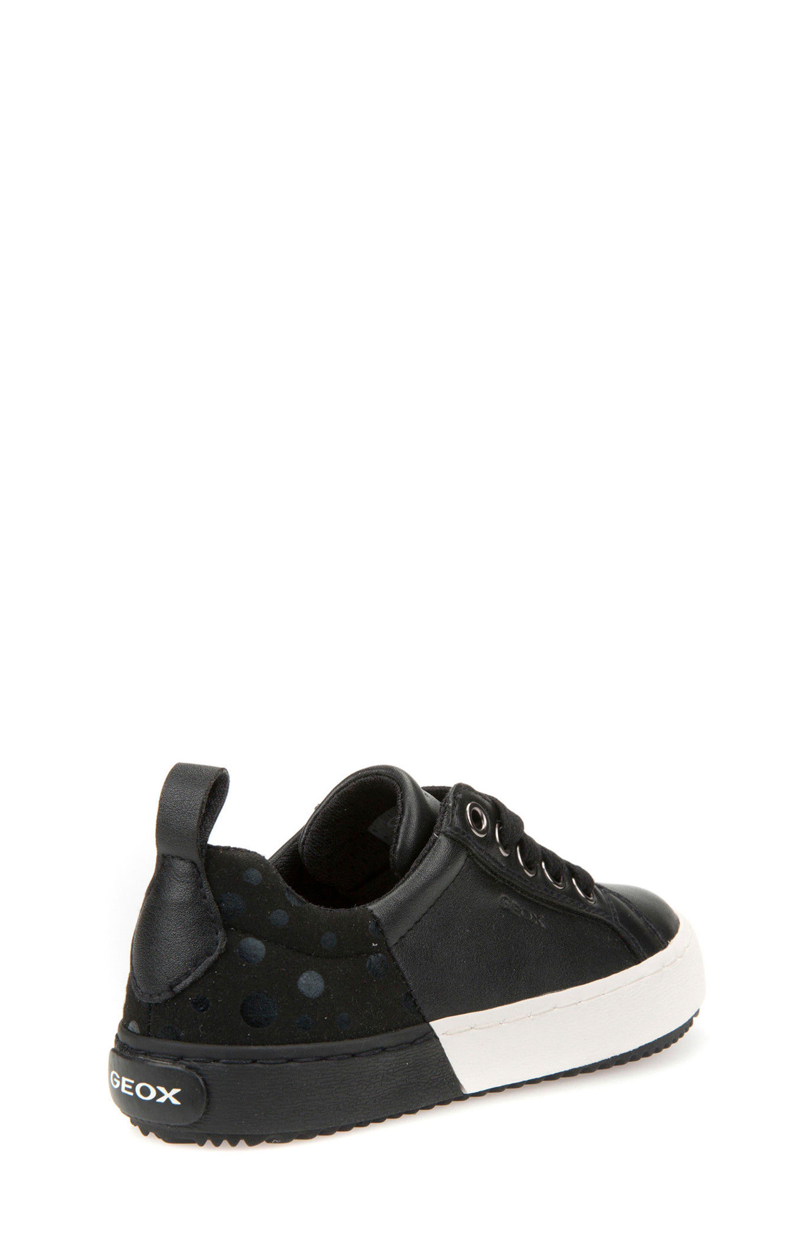 Kalispera Girl Dotted Low-Top Sneaker,                             Alternate thumbnail 2, color,                             001