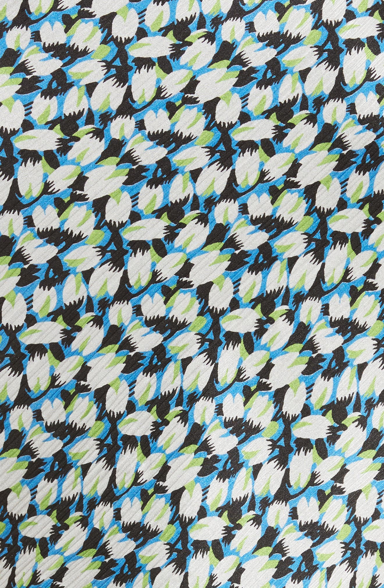 Asymmetrical Crinkle Silk Crepon Top,                             Alternate thumbnail 5, color,                             454