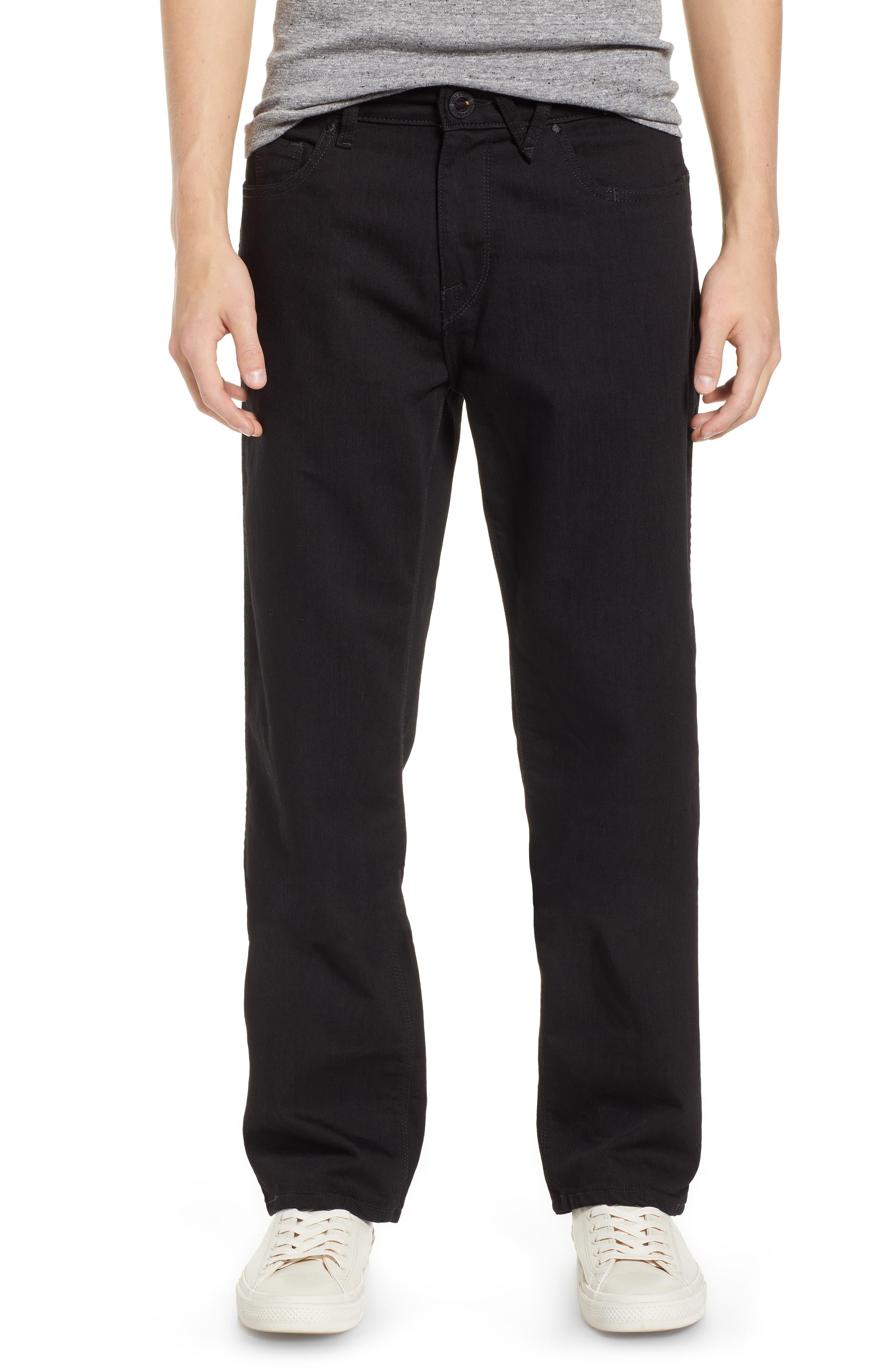 Kinkade Slim Fit Jeans,                         Main,                         color, TOUGH BLACK