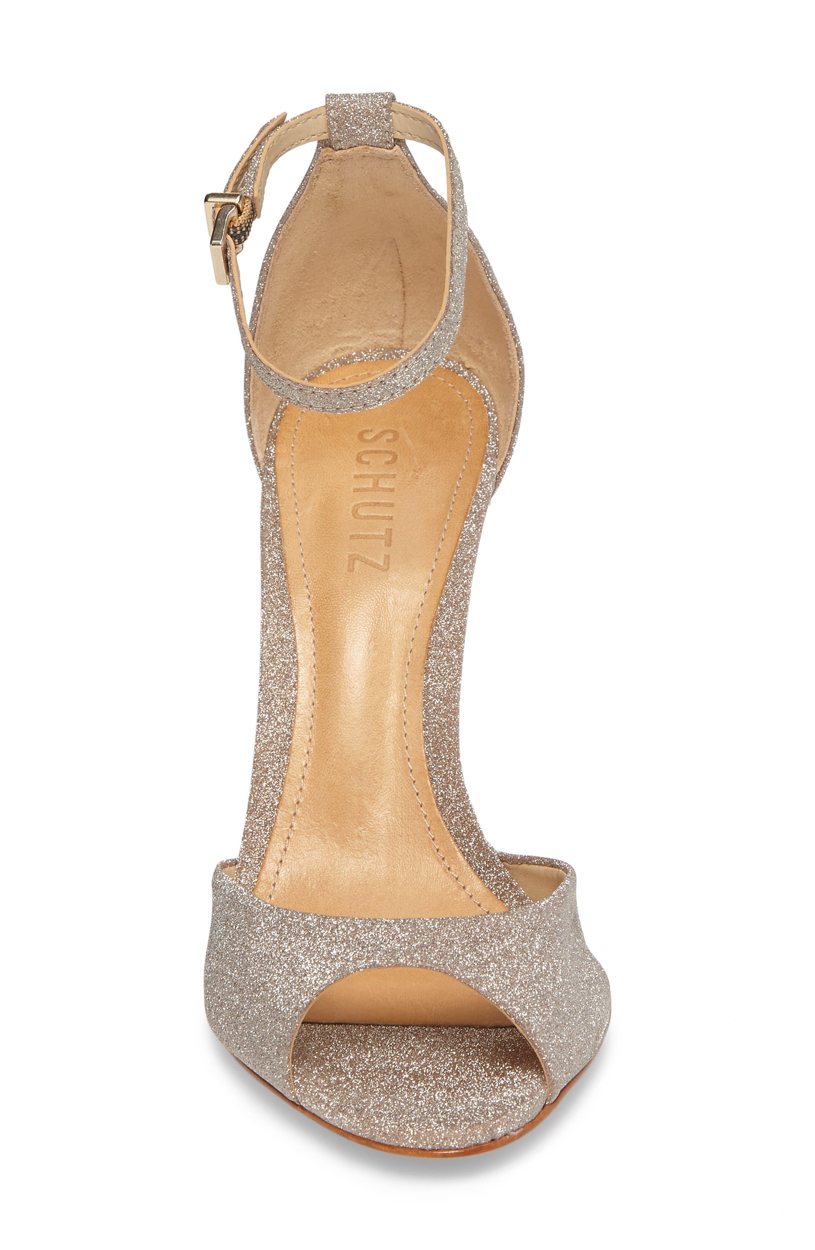 Saasha Lee Ankle Strap Sandal,                             Alternate thumbnail 4, color,                             040
