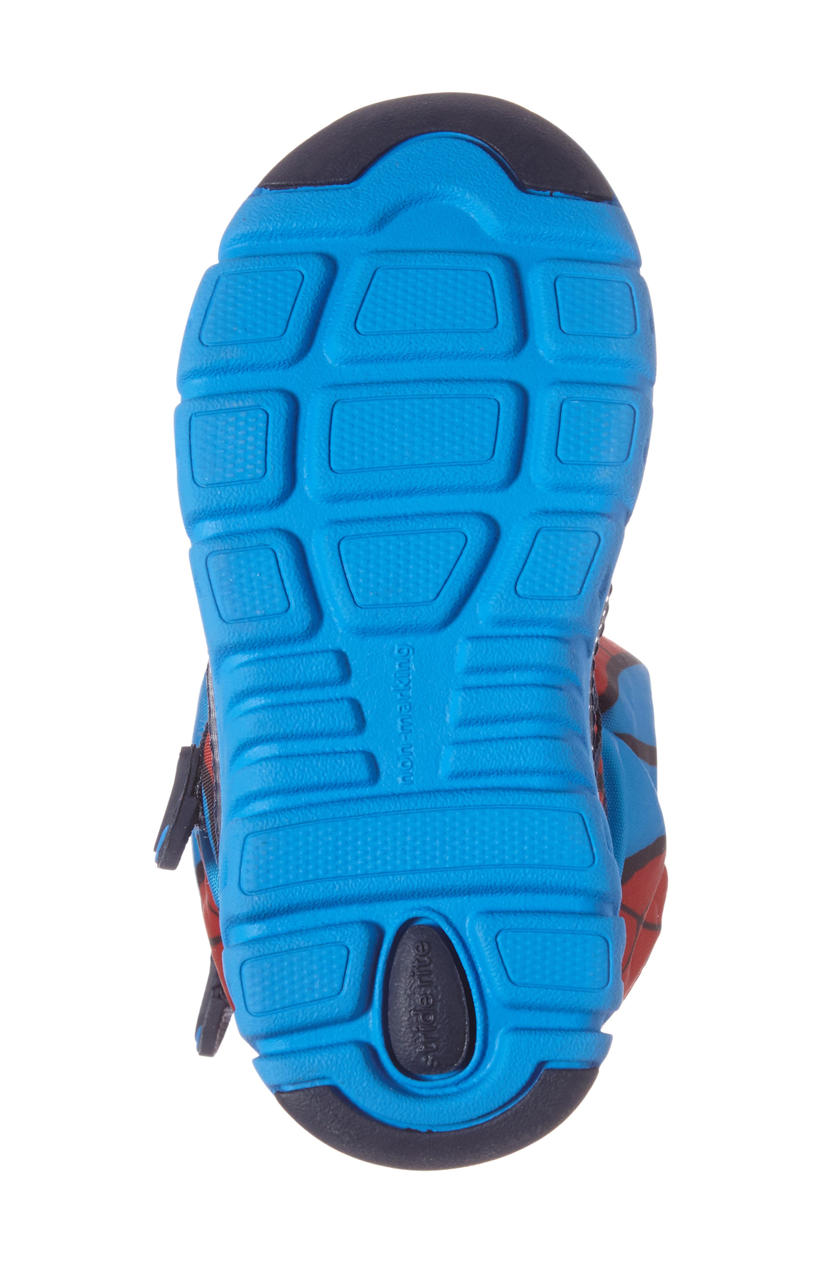 Made2Play<sup>®</sup> Spiderman Water Resistant Boot,                             Alternate thumbnail 4, color,                             600