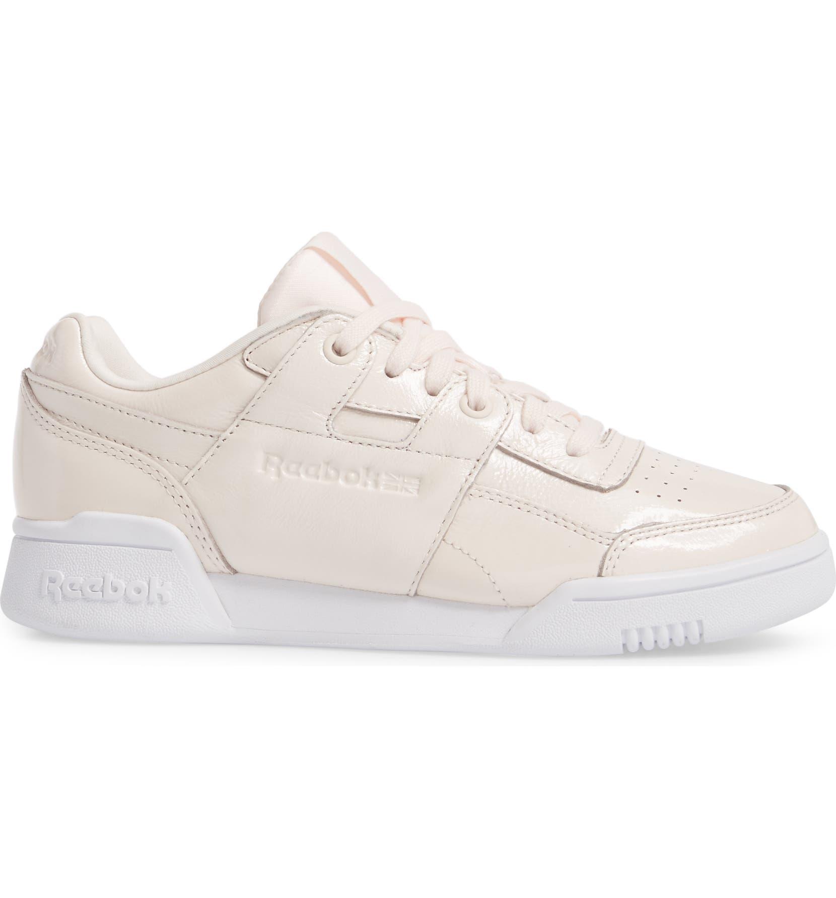 Reebok Workout Lo Plus Iridescent Sneaker (Women)  2c7986af0