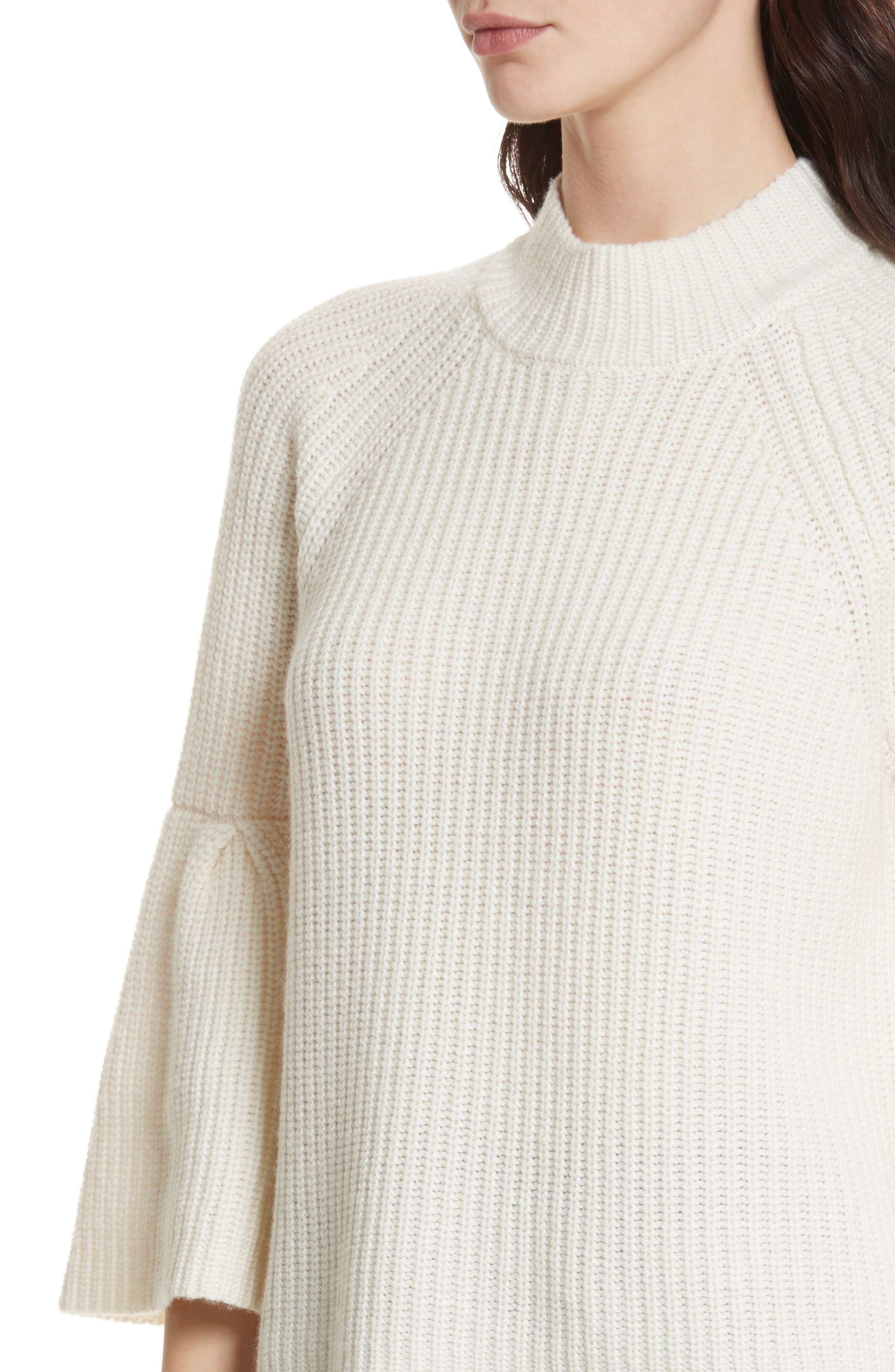 Ingrit Wool & Cashmere Sweater,                             Alternate thumbnail 4, color,                             114